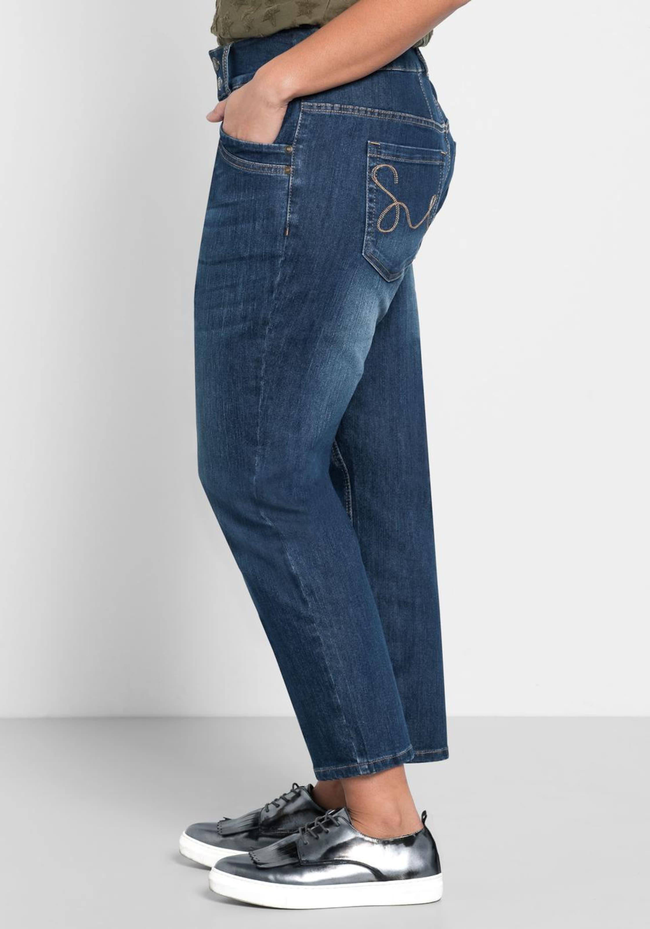 In Sheego Dunkelblau jeans Stretch Denim rdexoCB