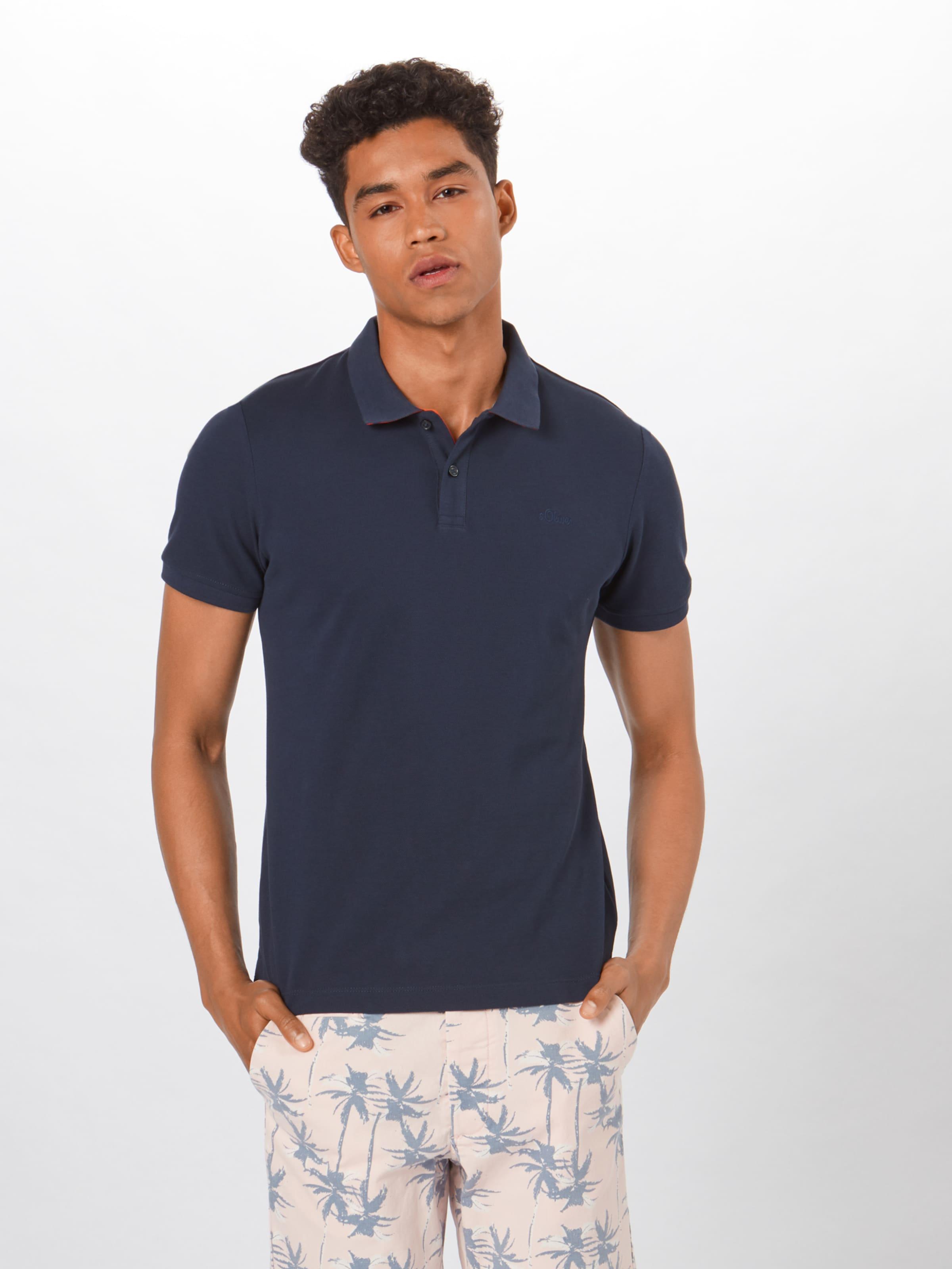 S T Nuit Red Label shirt oliver Bleu En MVqUzGSjpL