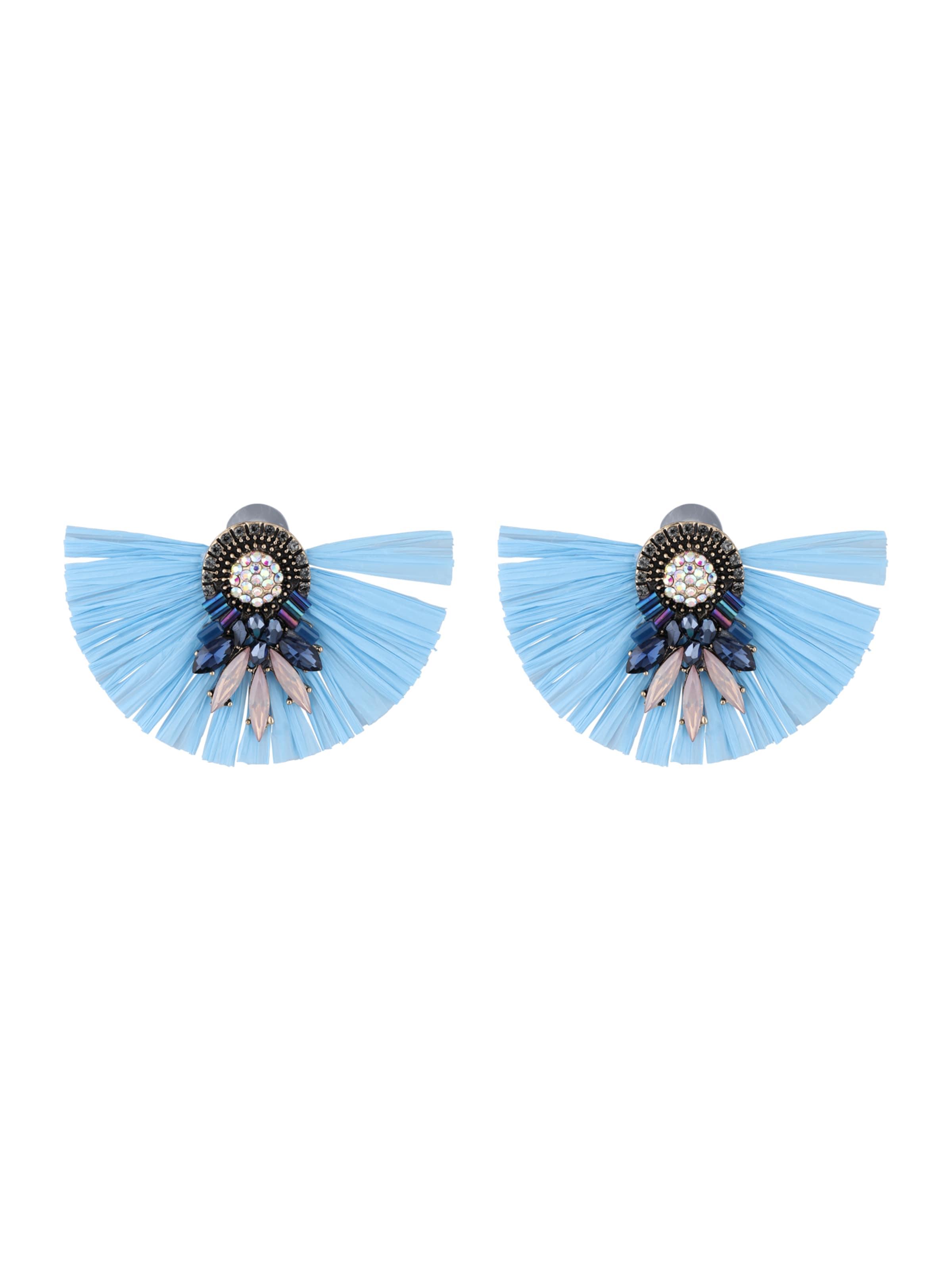 Sweet D'oreilles En Clair Boucles Bleu Deluxe L4ARj35