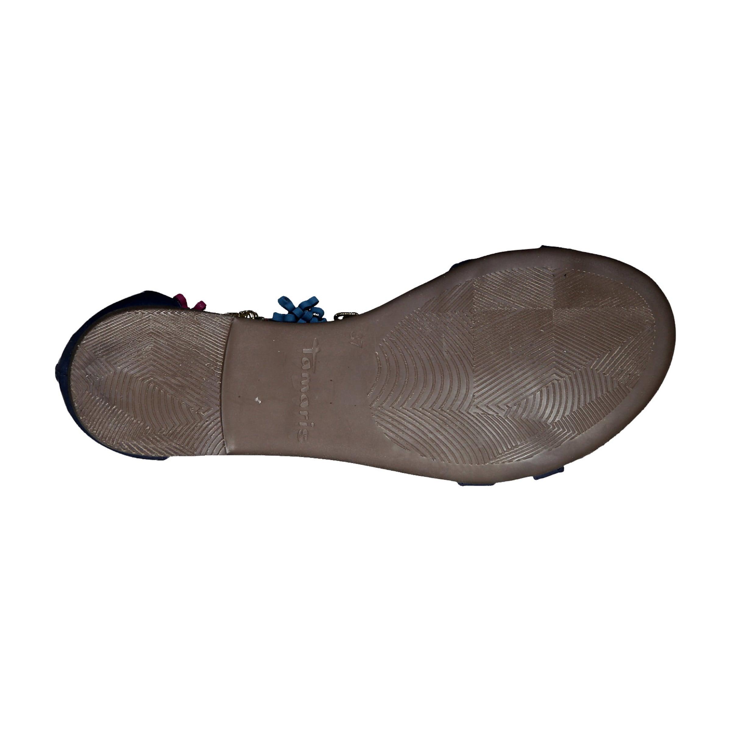 BlauDunkelpink BlauDunkelpink Sandale In Tamaris In Sandale Tamaris zVpqSUMGL