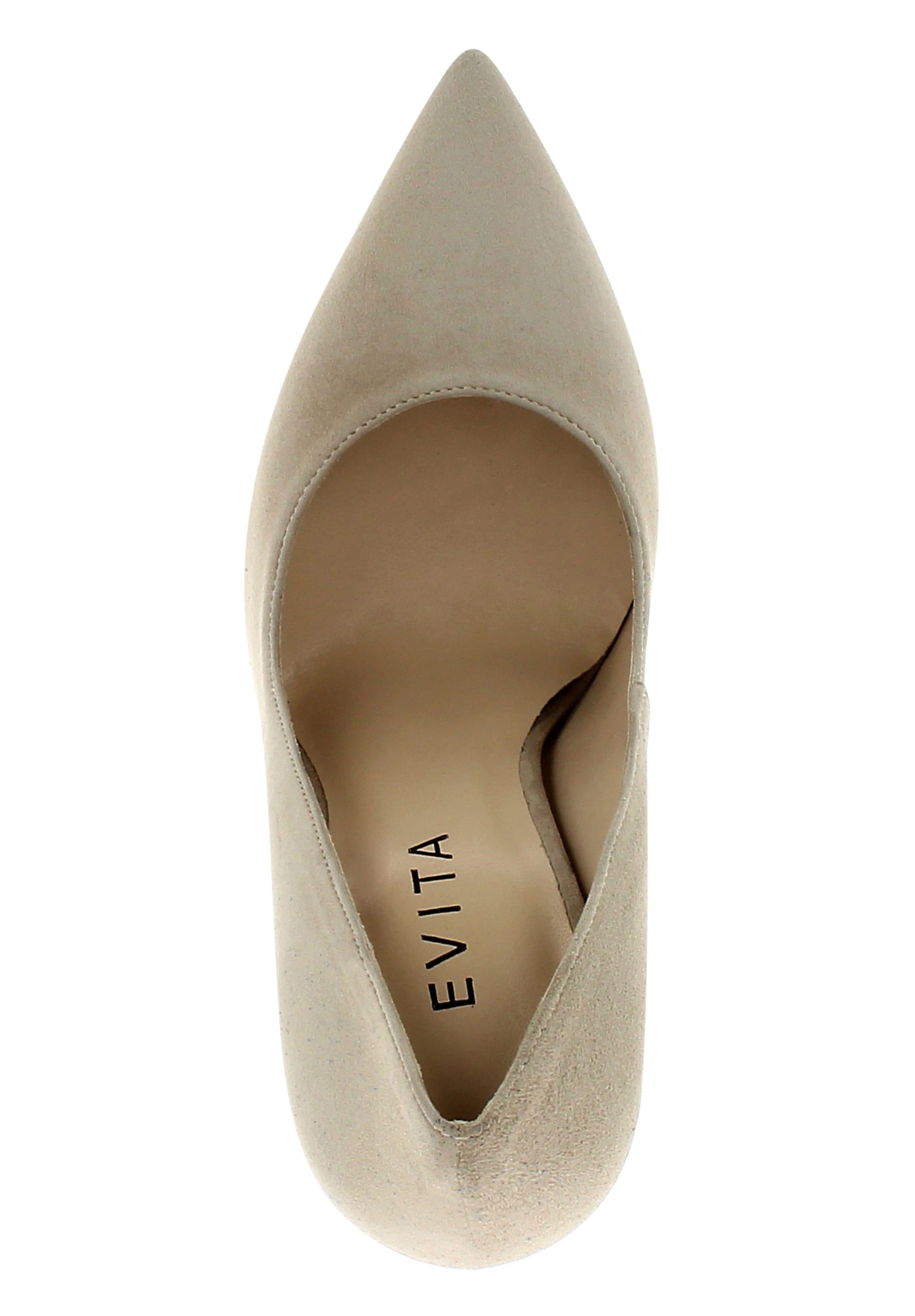 Evita Gris Escarpins Evita En Escarpins dhQsrtC