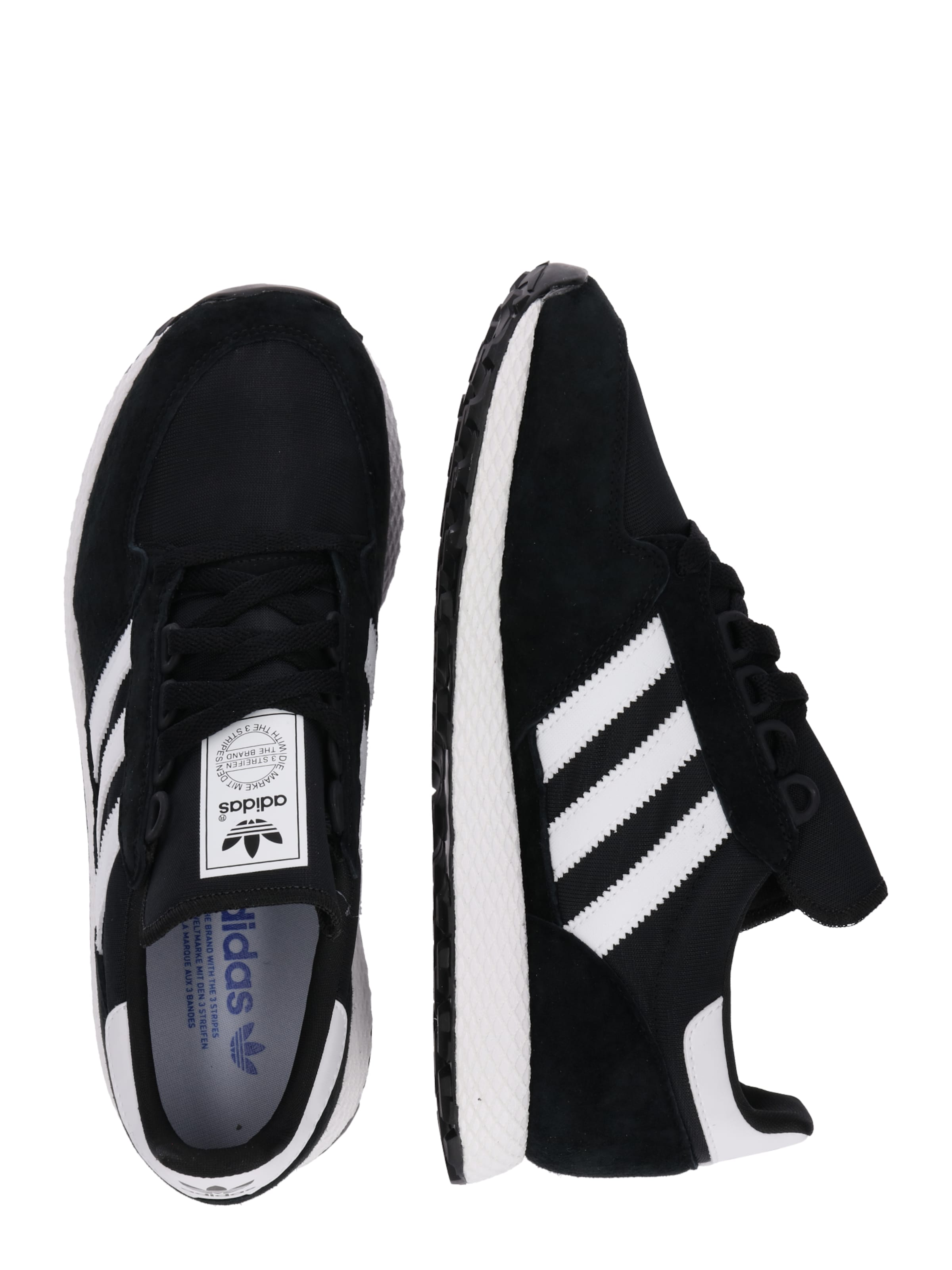 Baskets Adidas En Basses Originals 'forest Grove' NoirBlanc htdsCxBoQr