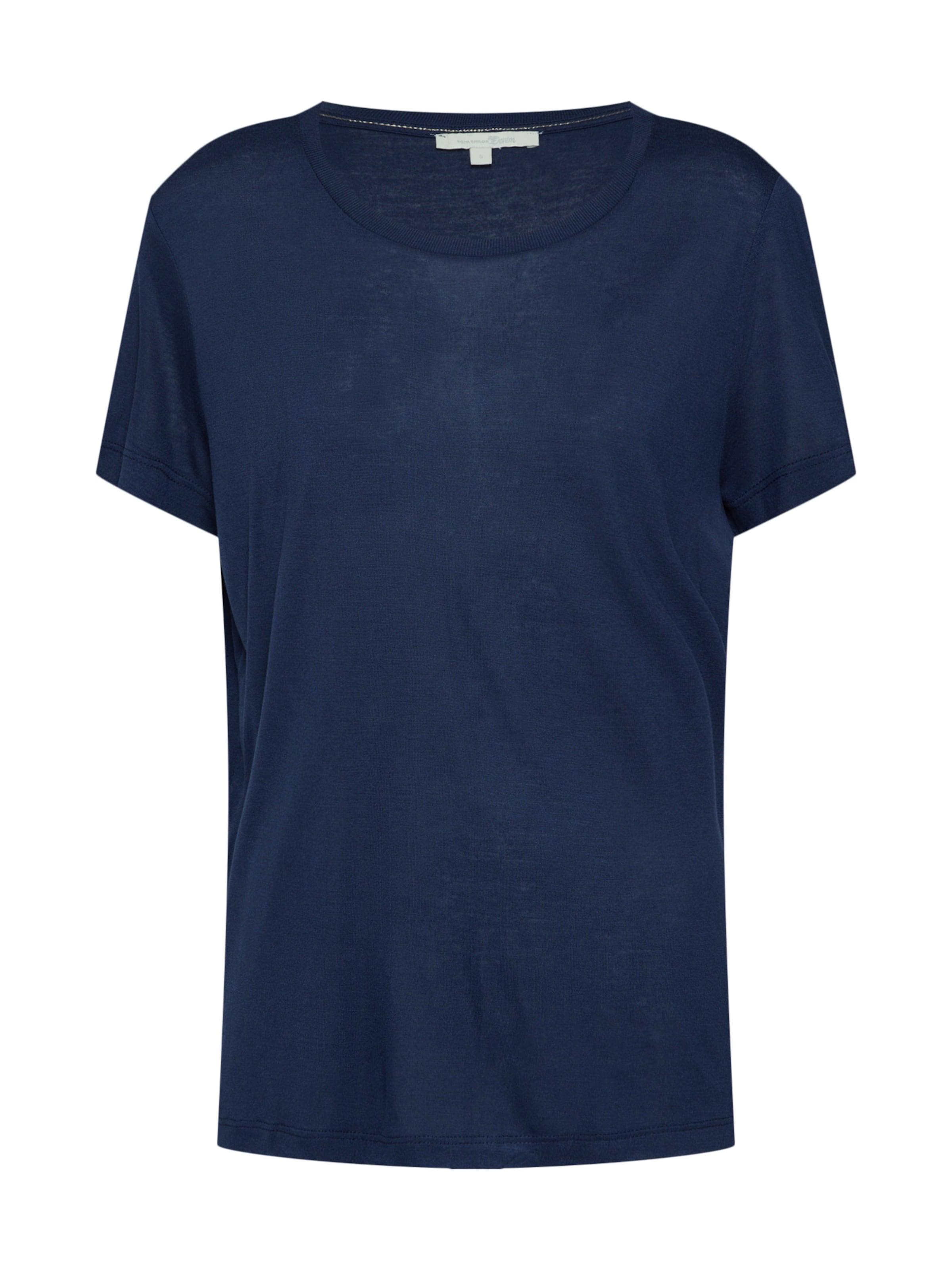 shirt T Denim Bleu Tom En Tailor Marine gYbf7y6
