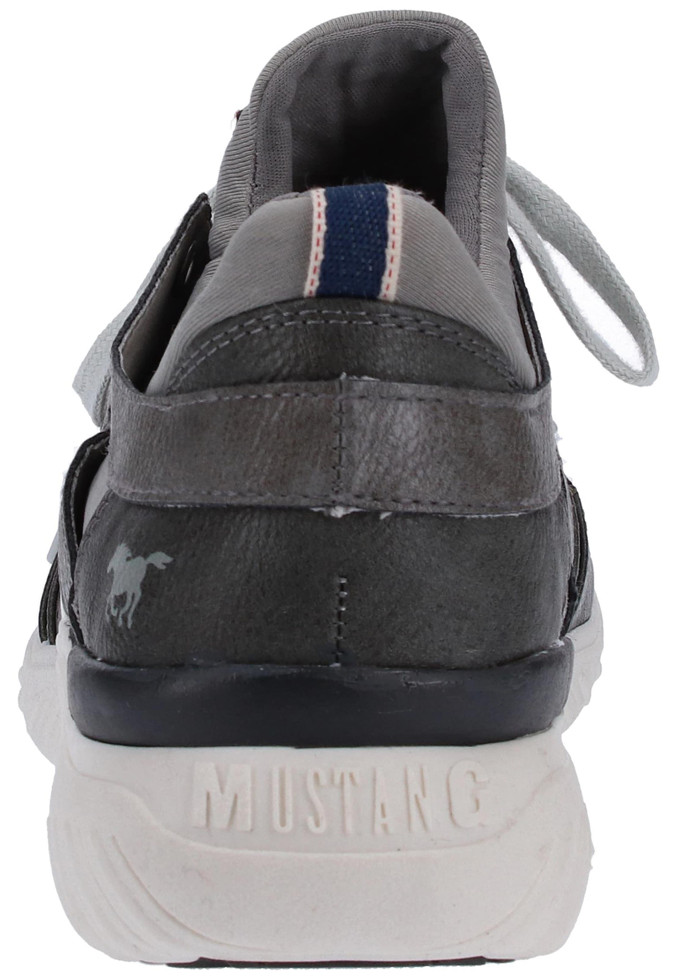 En GrisFoncé Mustang Baskets Basses Nw8XkOn0P