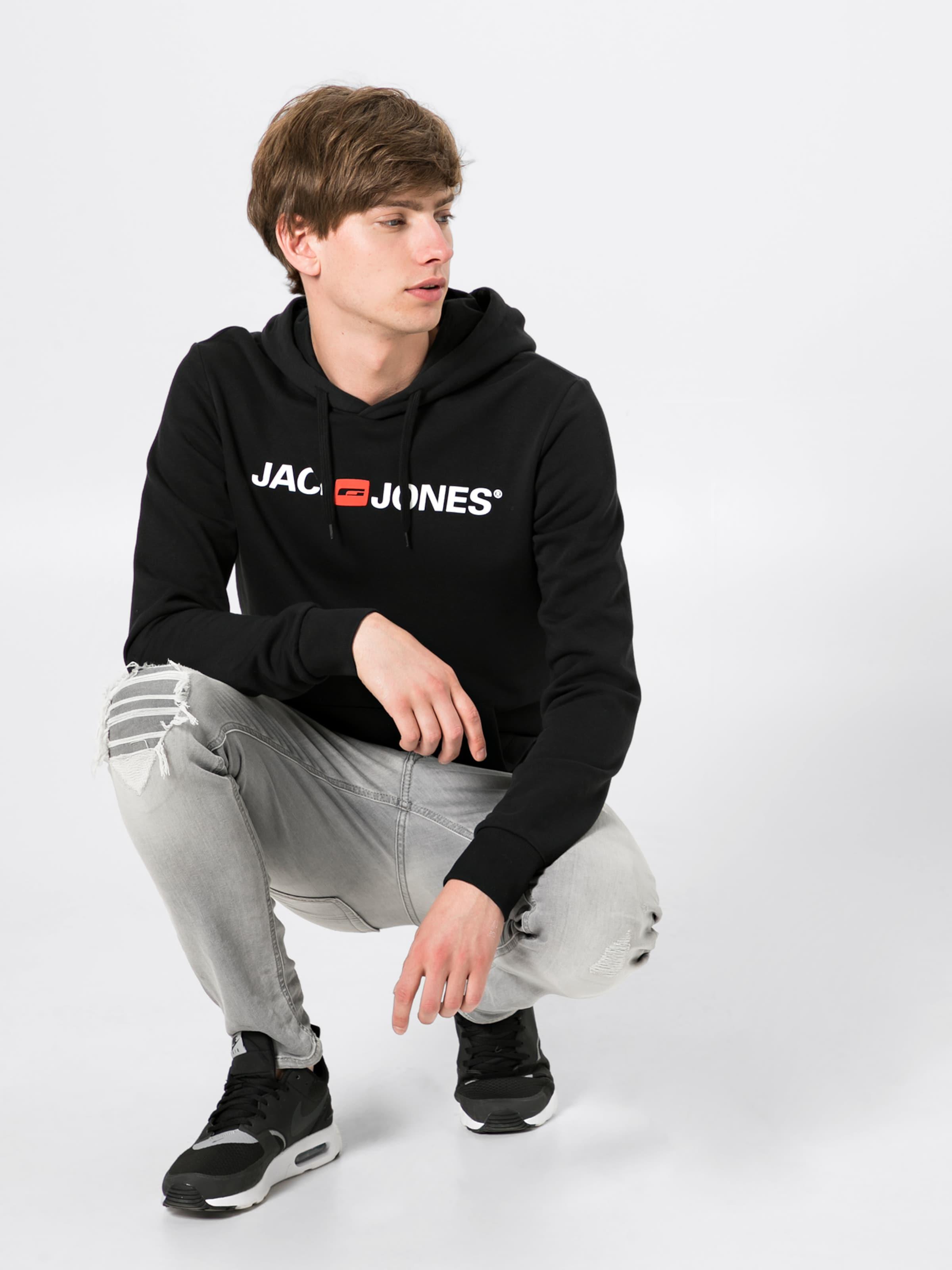 Jones Sweat Jackamp; En shirt Noir mwOvN80n