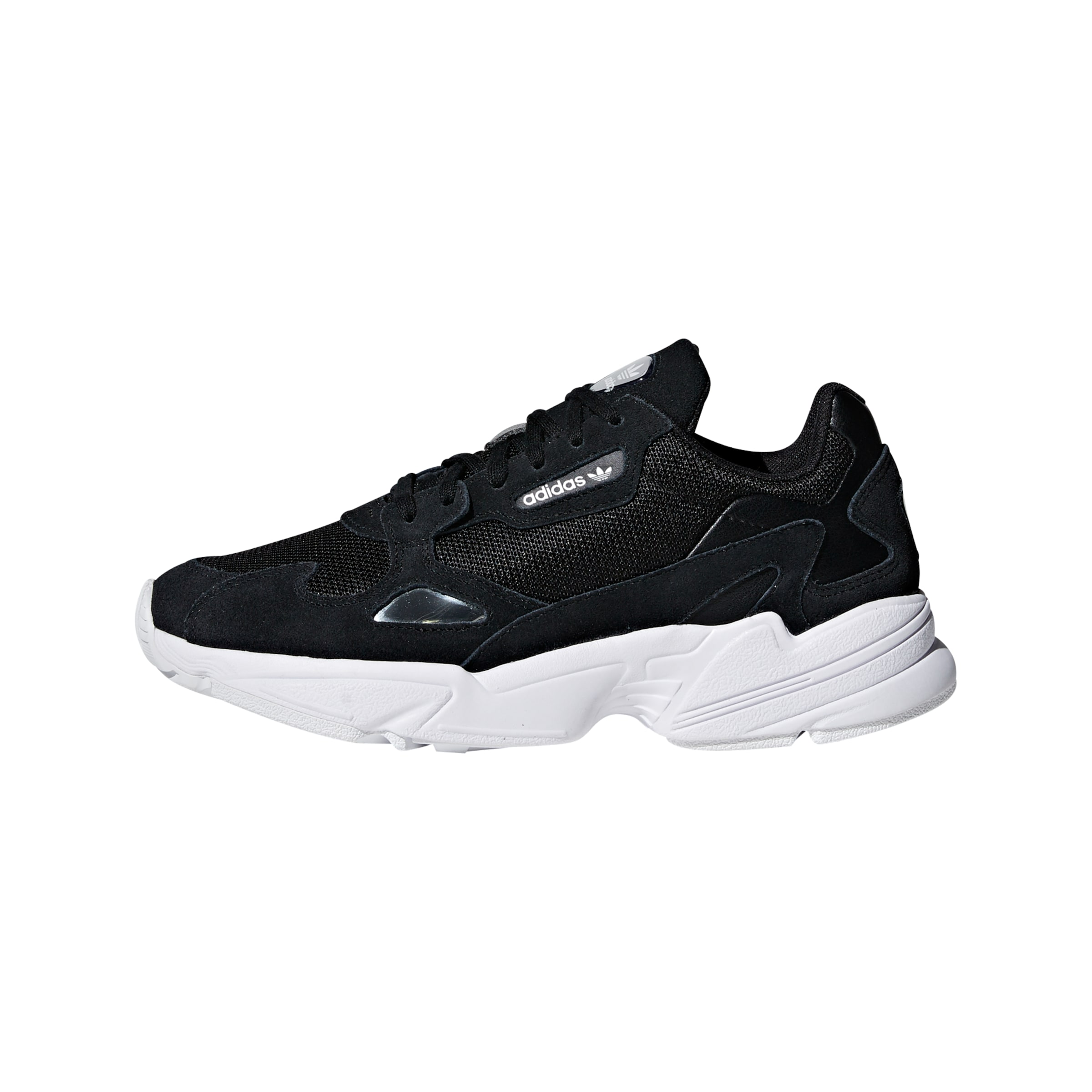 En Noir Adidas Originals Baskets Basses 'falcon' gyvYb6f7I