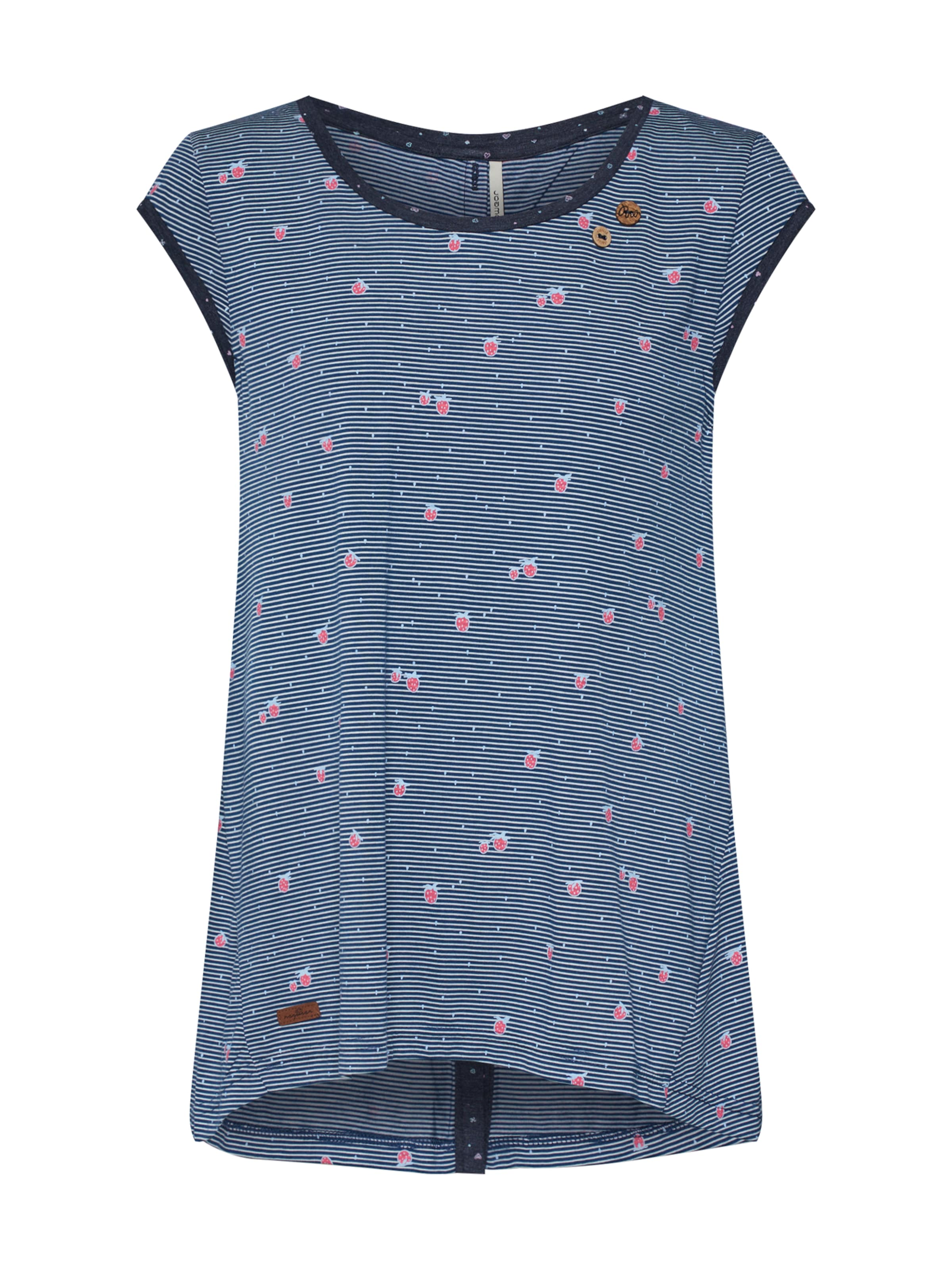 Blanc 'dominica' BleuRose En T shirt Ragwear 0Pwk8On