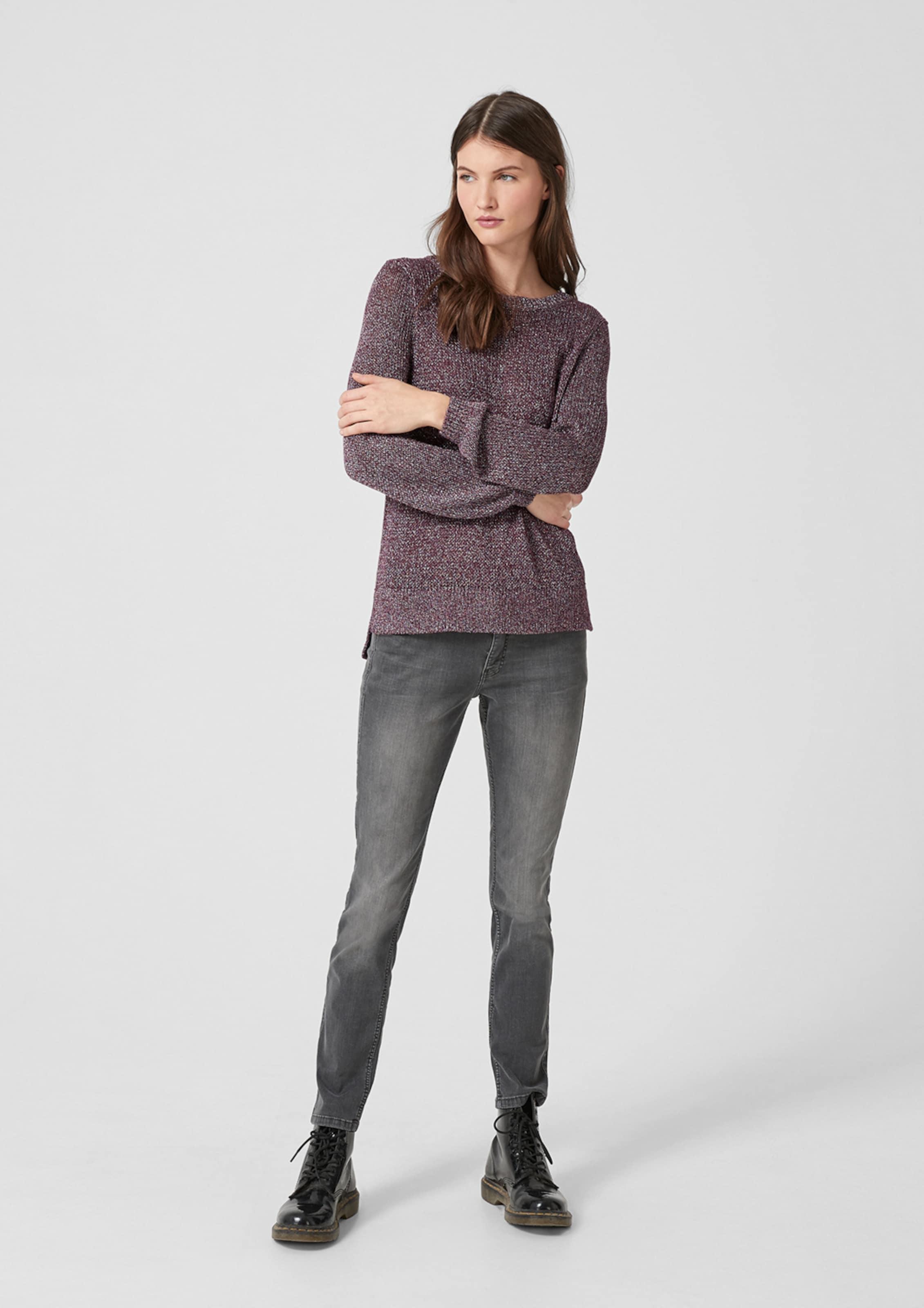 Rotviolett Designed In s By Q Pullover ZikPXOu