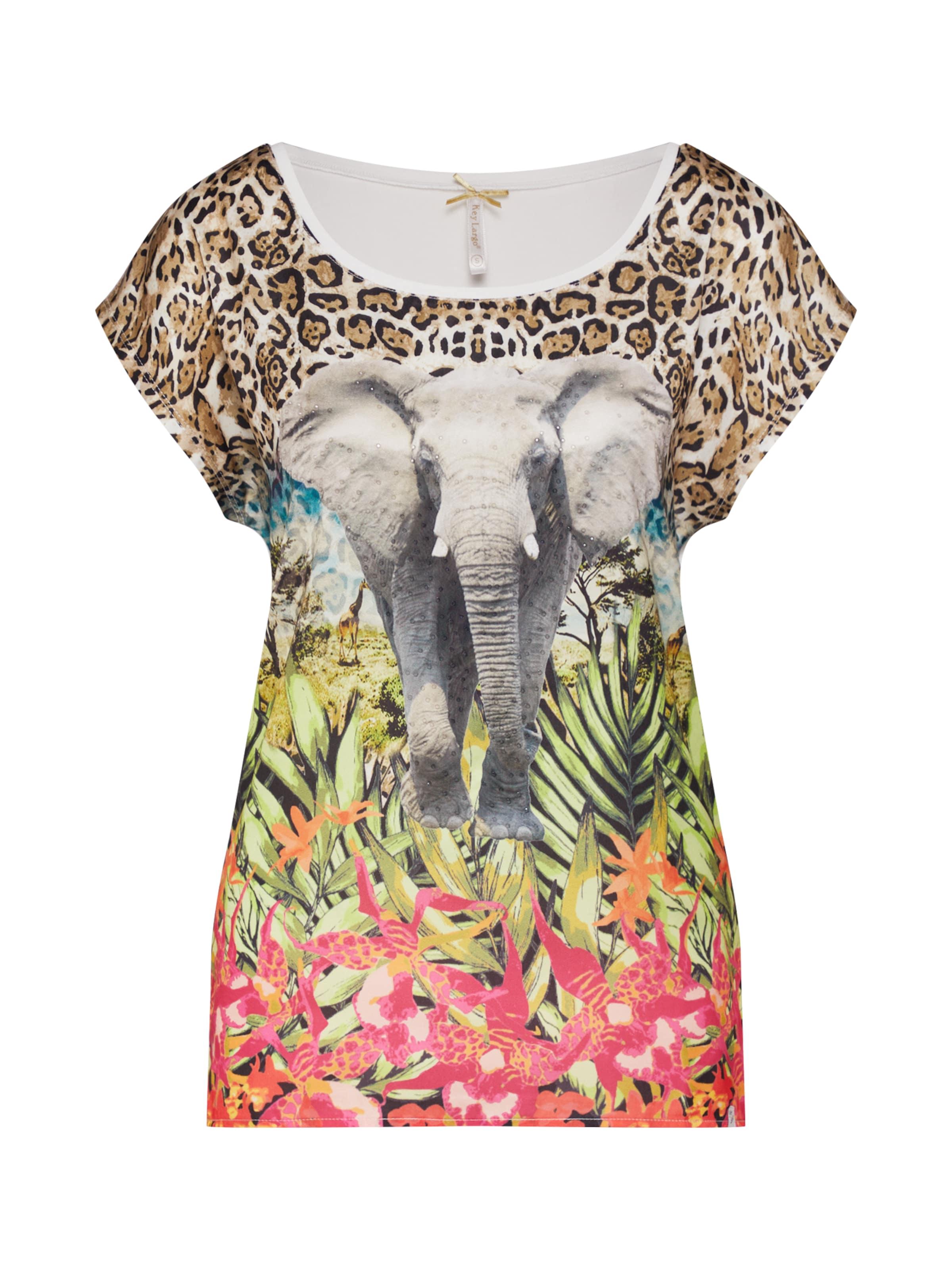 Kenya In Largo SandMischfarben shirt 'wt T Key Round' RLq54A3j