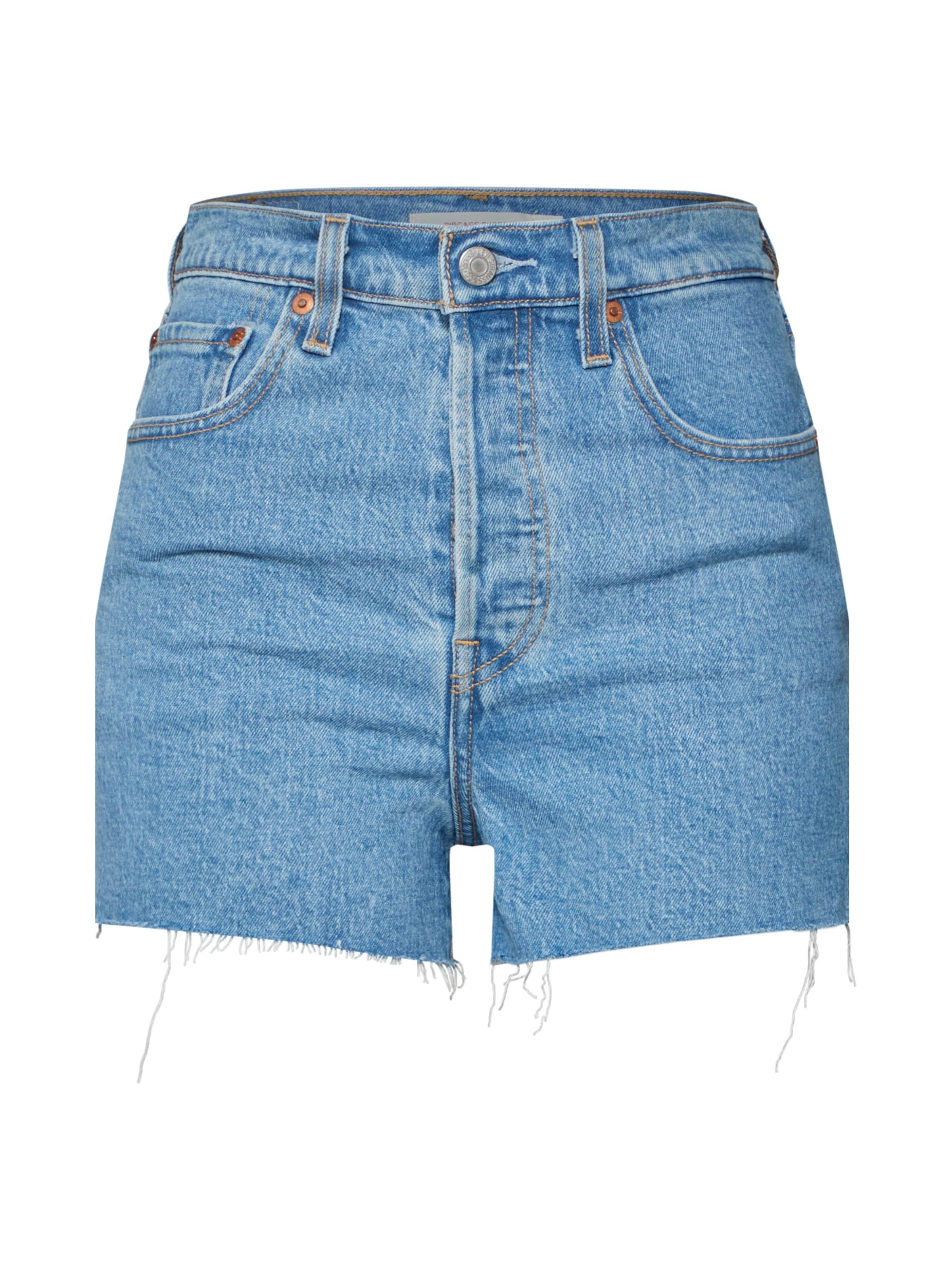 In Levi's 'ribcage' Denim Blue Shorts TlKu15Jc3F