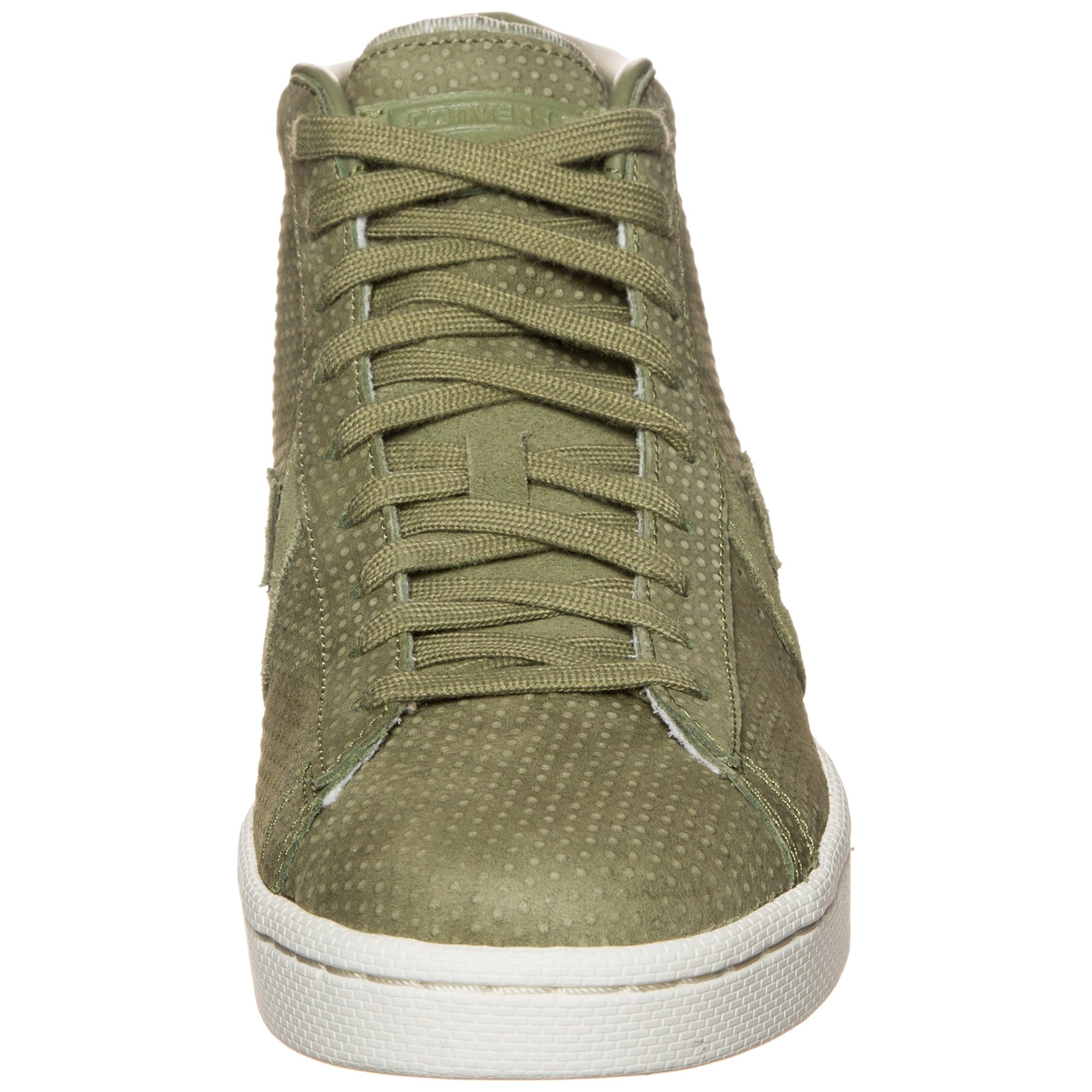 Converse Mid' Baskets Lux Hautes 'pro Leather En 76 Kaki qUMGSzpV