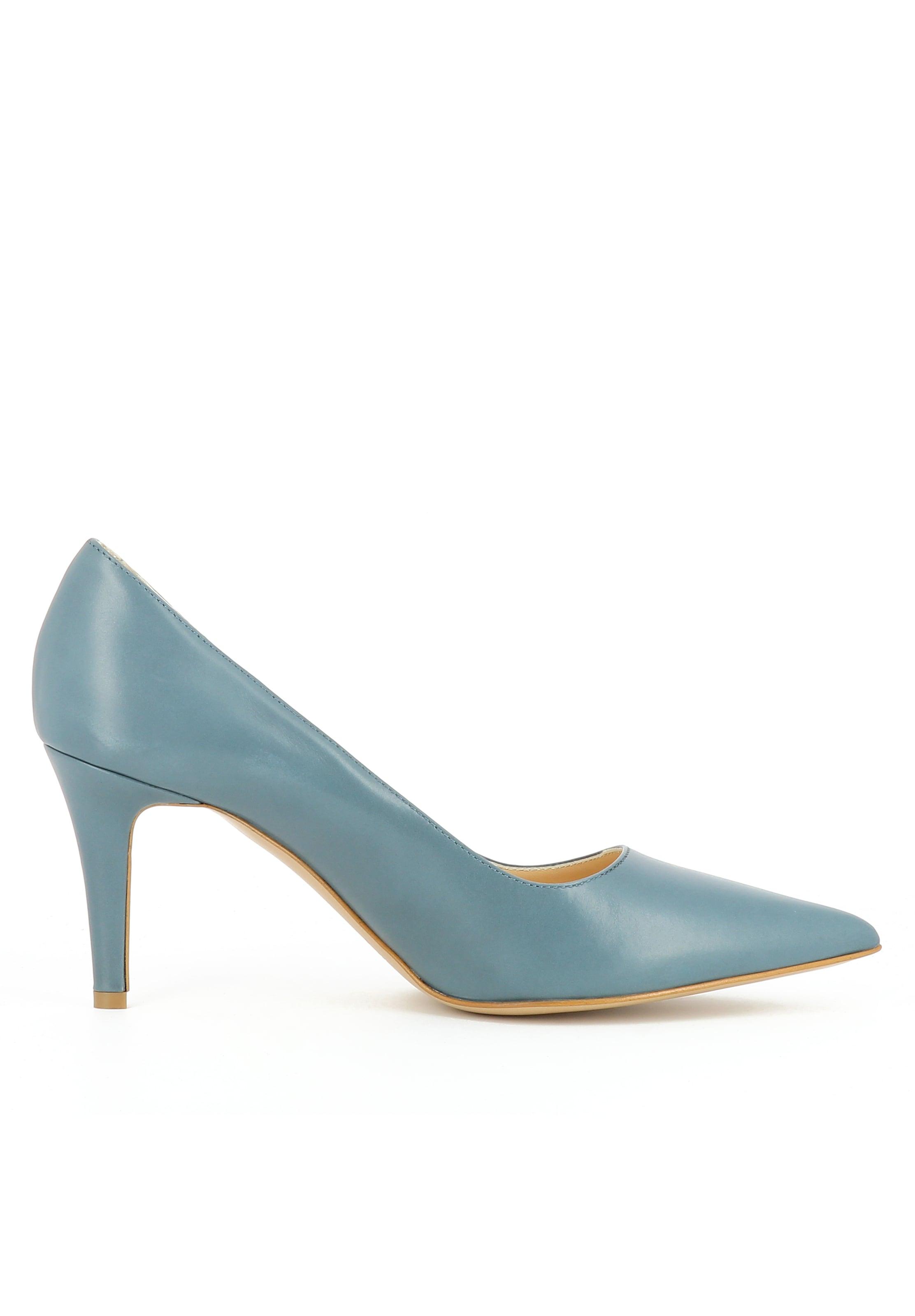 'jessica' Clair Escarpins En Bleu Evita fgmIY6yvb7
