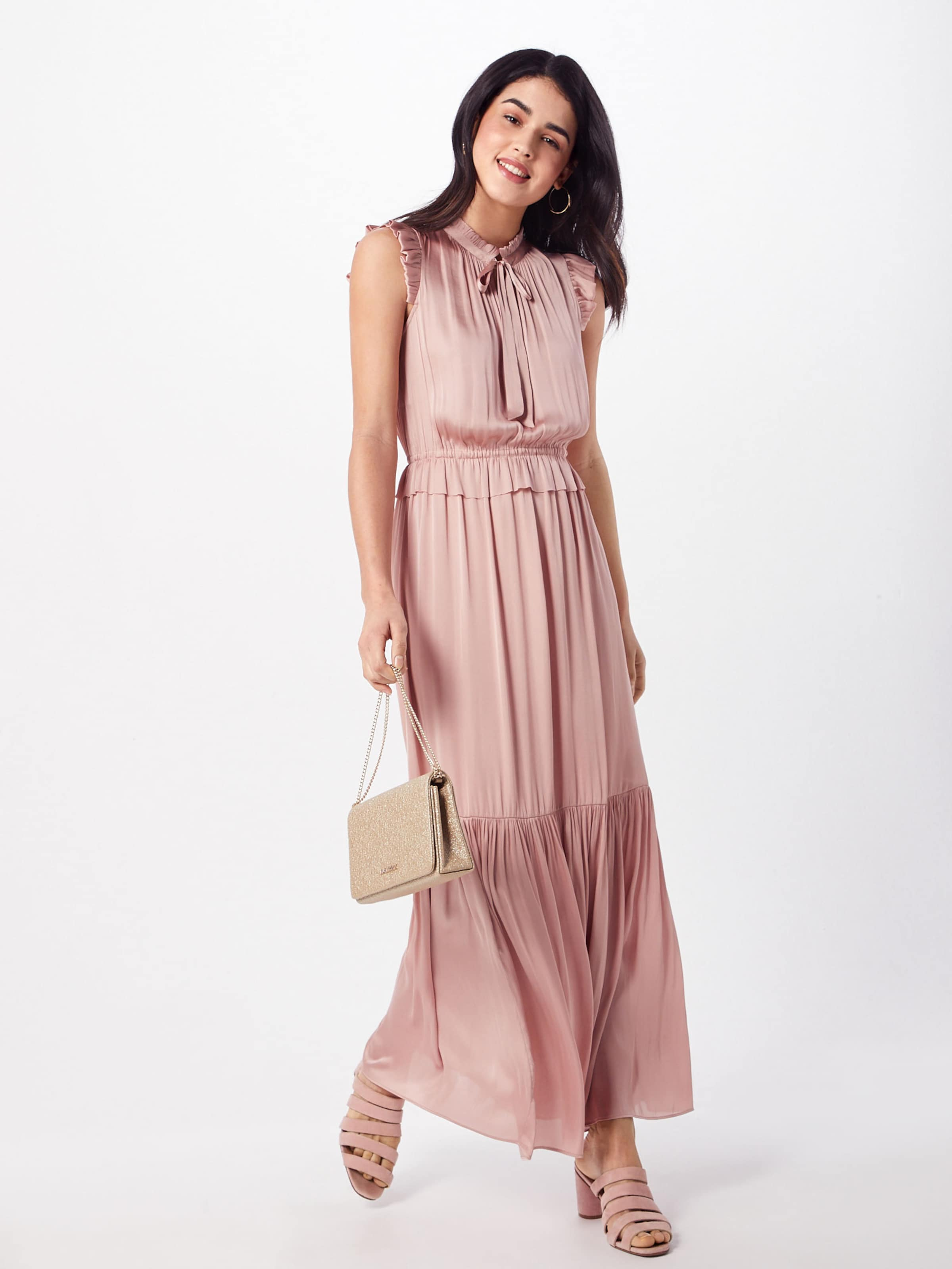 Kleid Republic In Rosa Maxi Solid' Banana 'sl Neck Tie LqjSzMVGUp