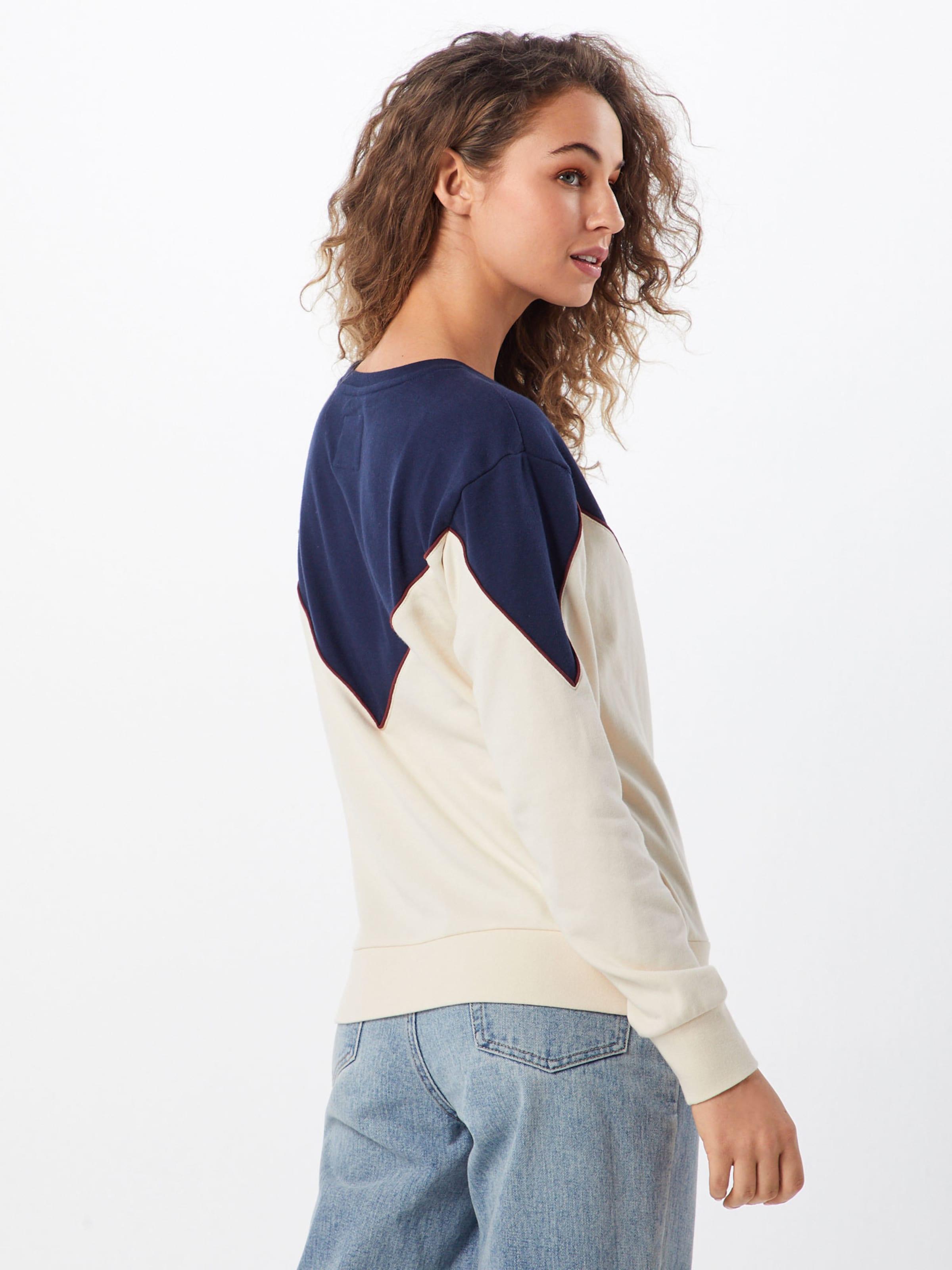 En MarinePoudre shirt Bleu Sweat Element 'overnight' eWIH29DEY