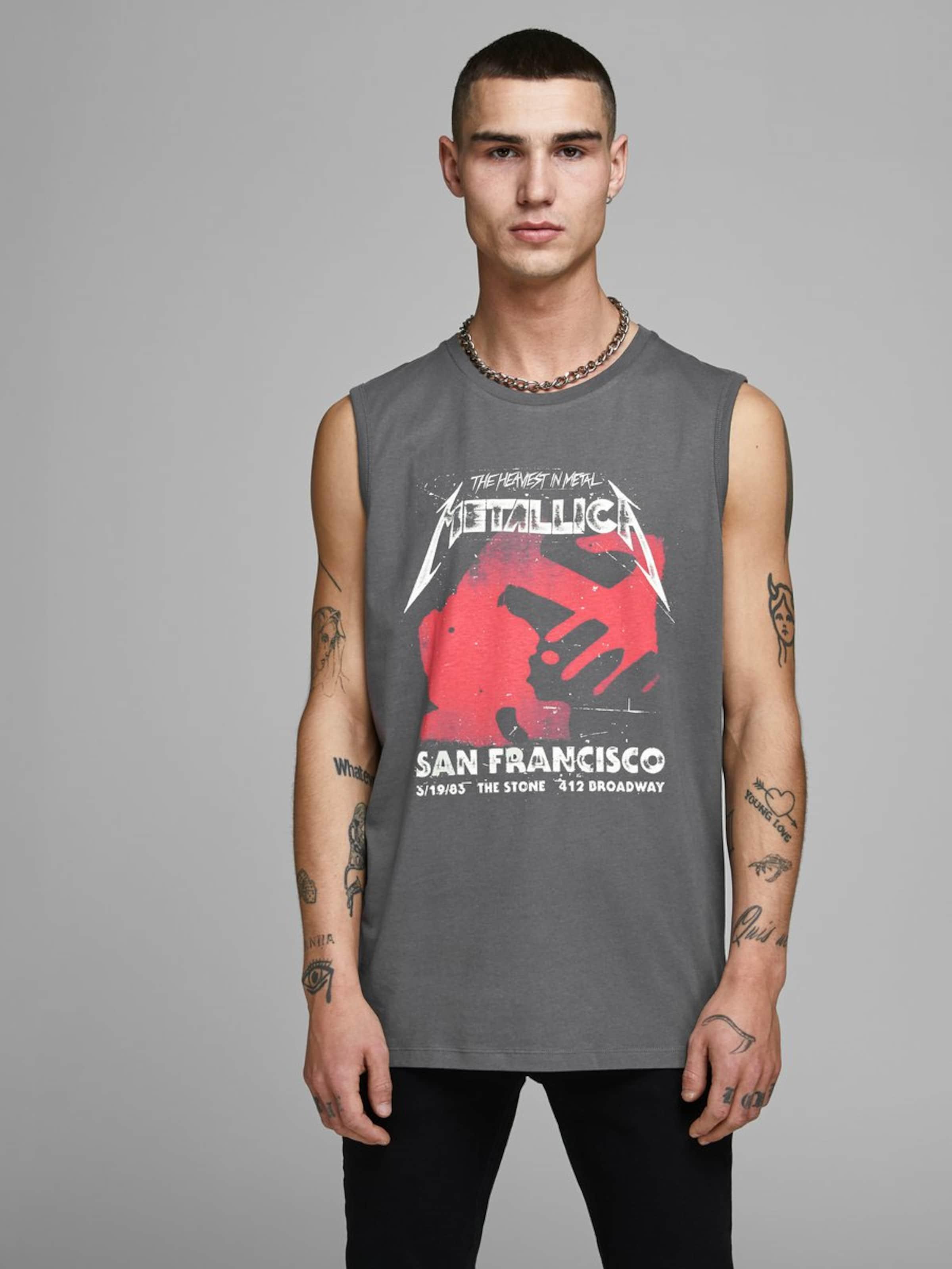 Jones En Jackamp; Gris T shirt Foncé kZiXuP