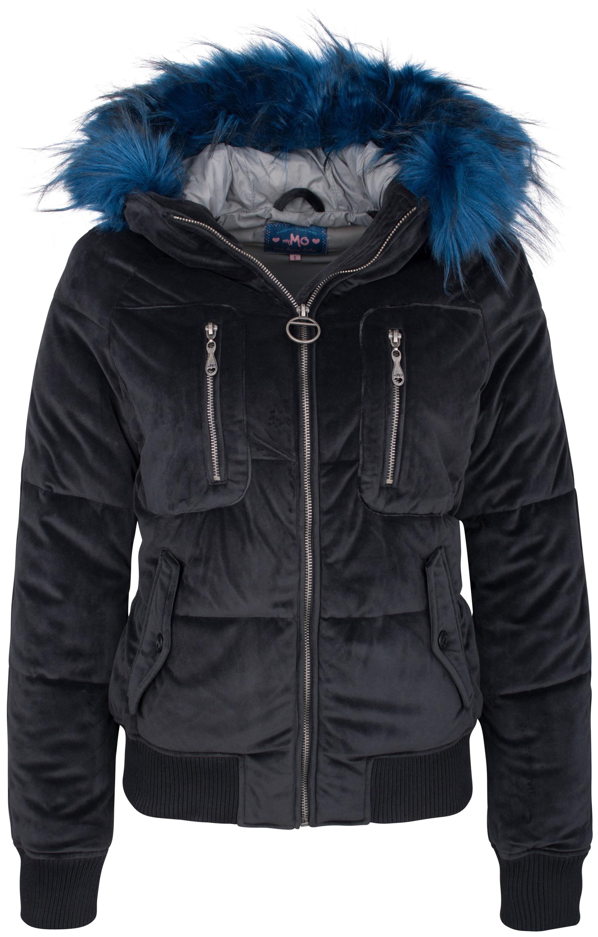 Veste Mymo Bleu En Mymo D'hiver TKJcFl1