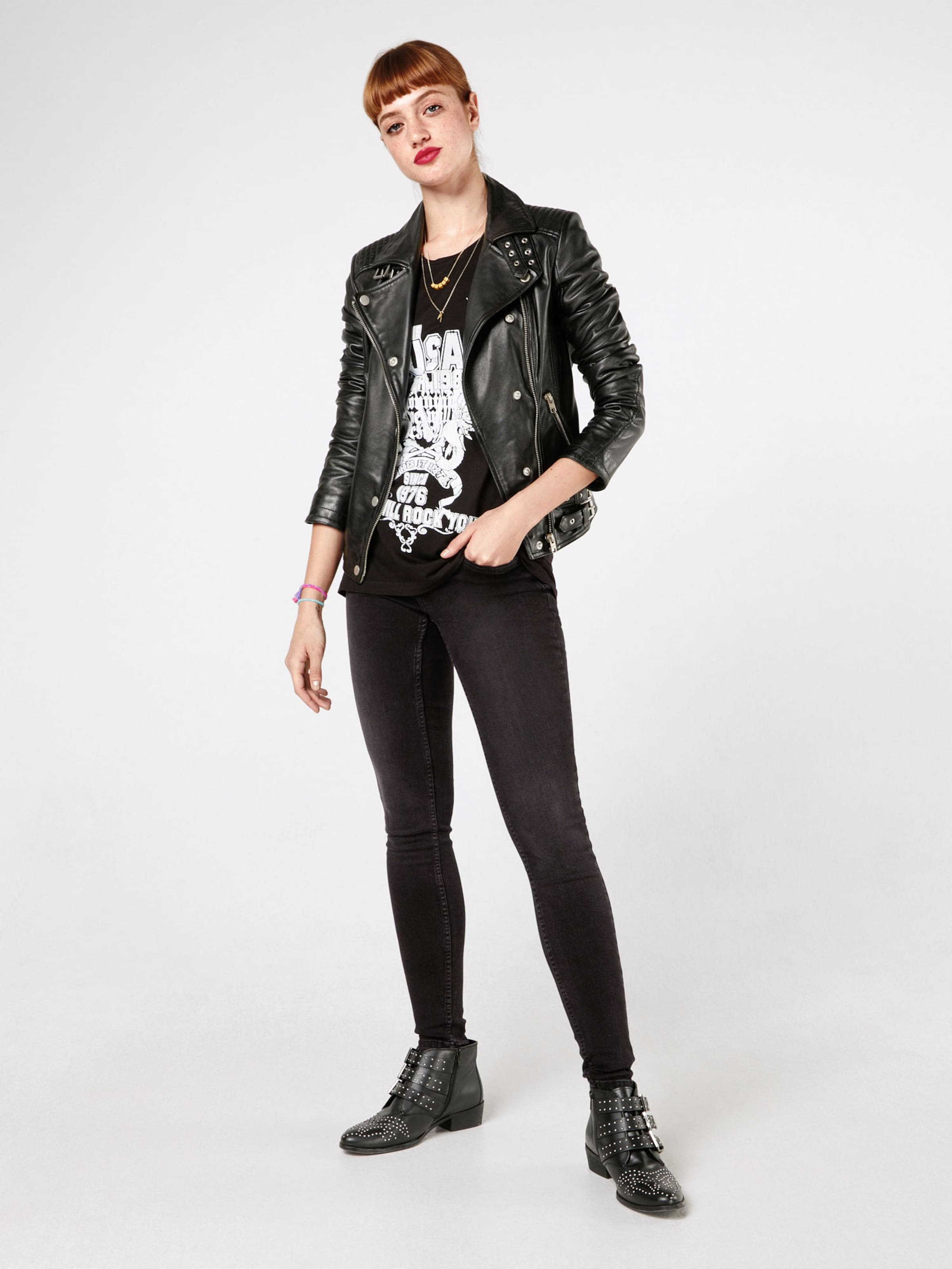 Noisy Denim 'eve' May In Black Skinny Jeans WDYbE29IeH