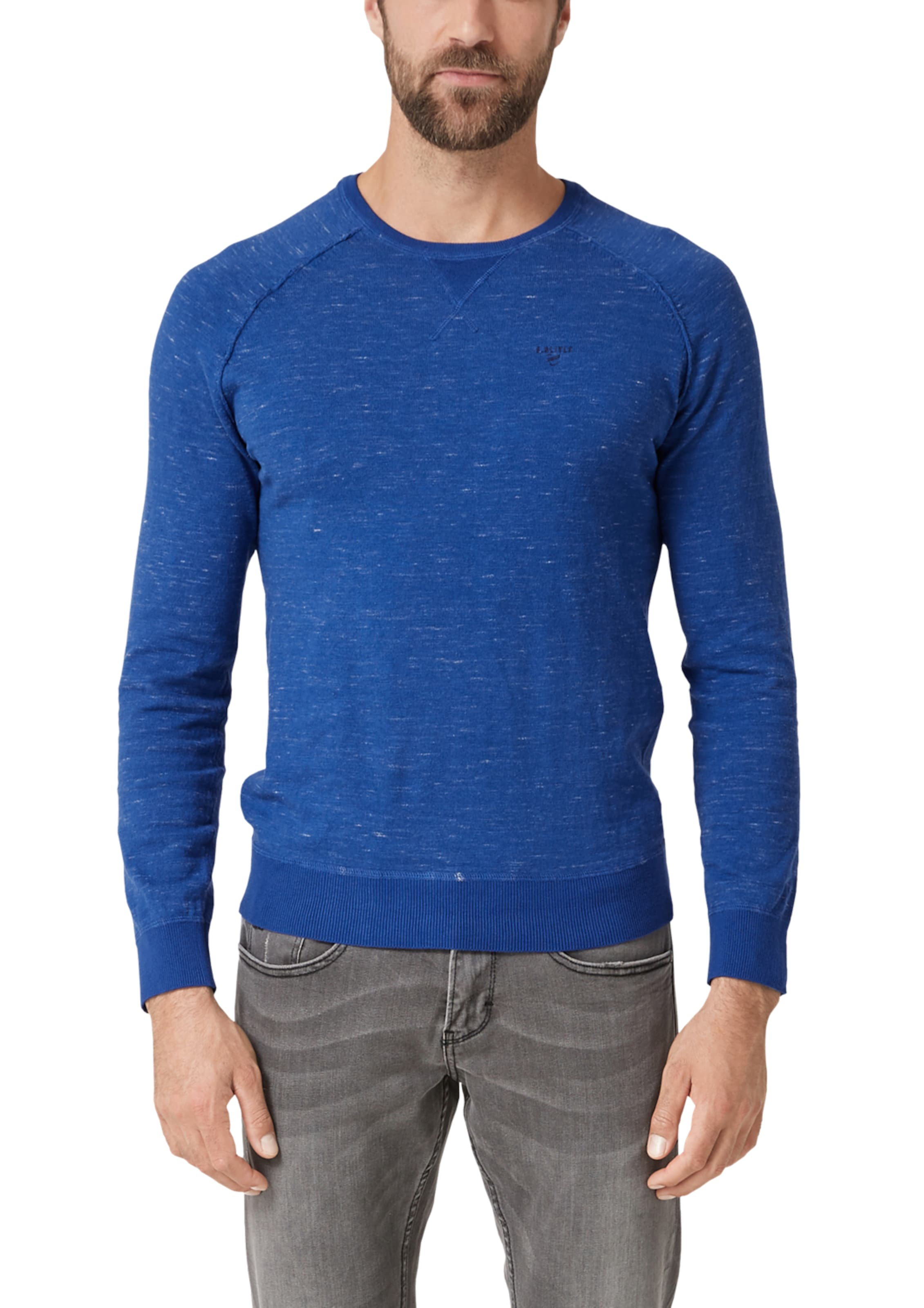 In oliver Label Blau Red S Pullover CdxBoe