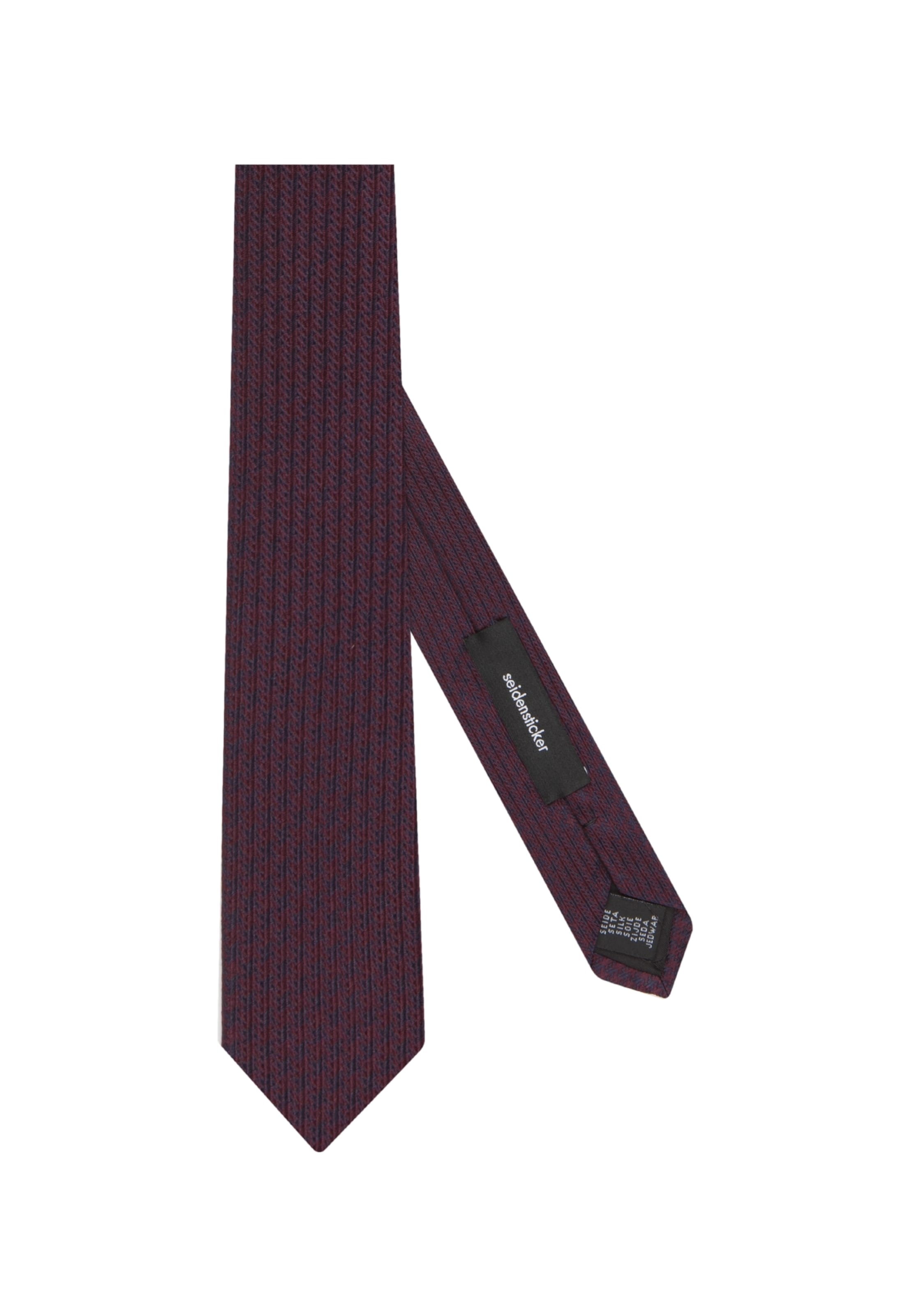 Bleu Seidensticker De Cravate Vin FoncéLie En 5A3q4LcRjS