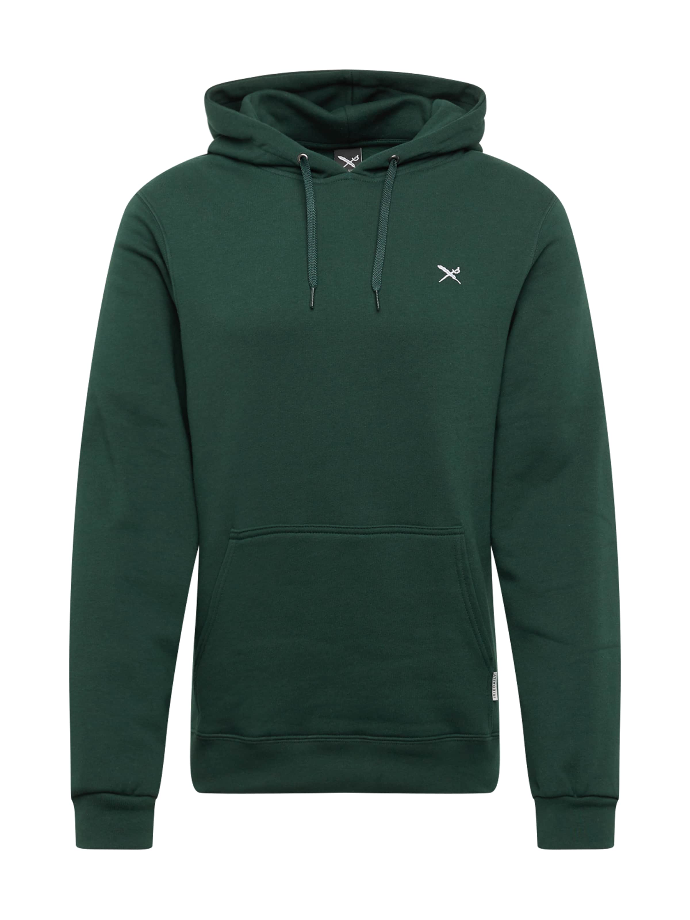 Flag' Vert FoncéBlanc shirt Sweat En Iriedaily 'mini dxthQrsC