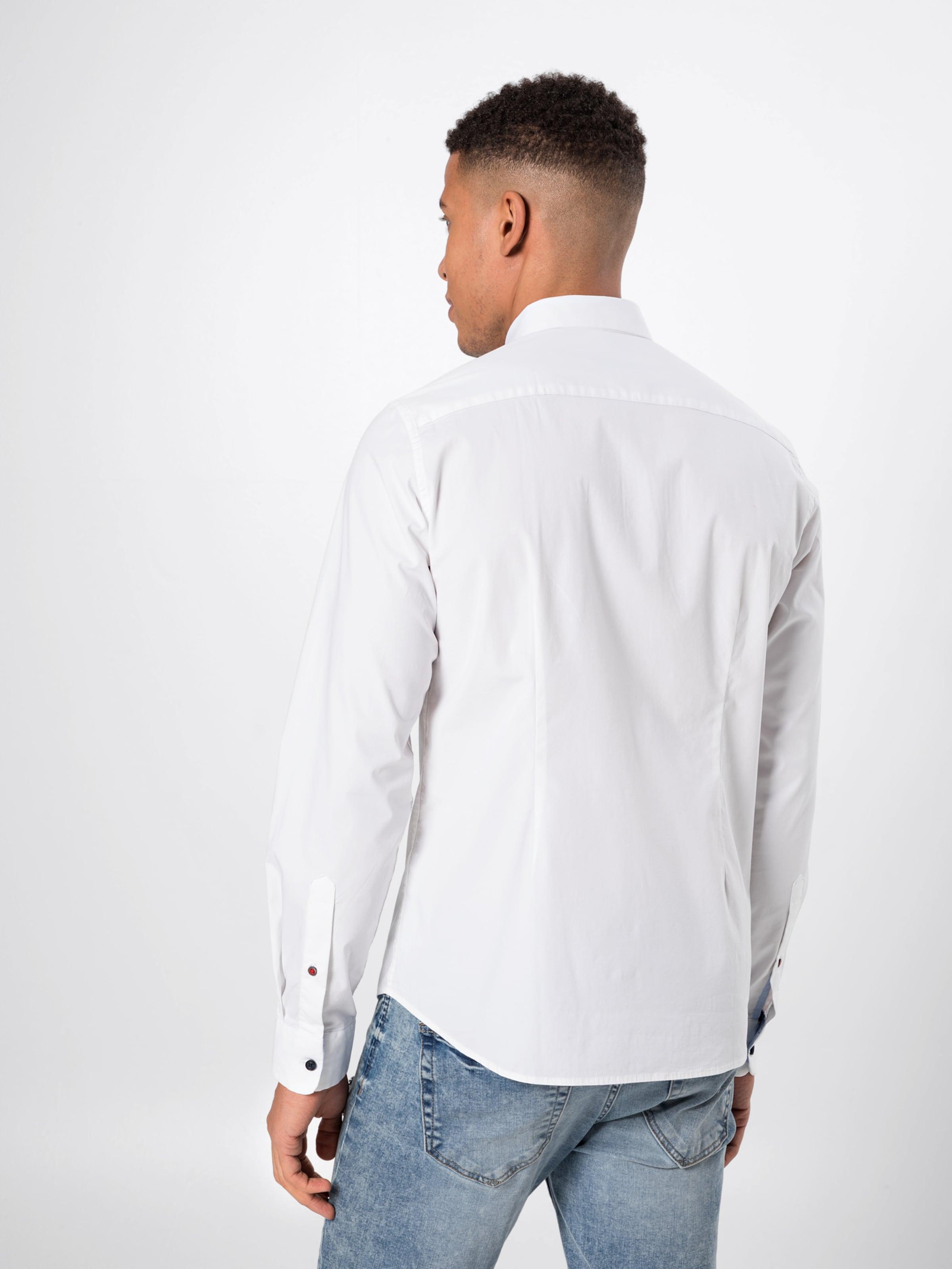 In Weiß Hemd oliver Red S Label erdxBCo
