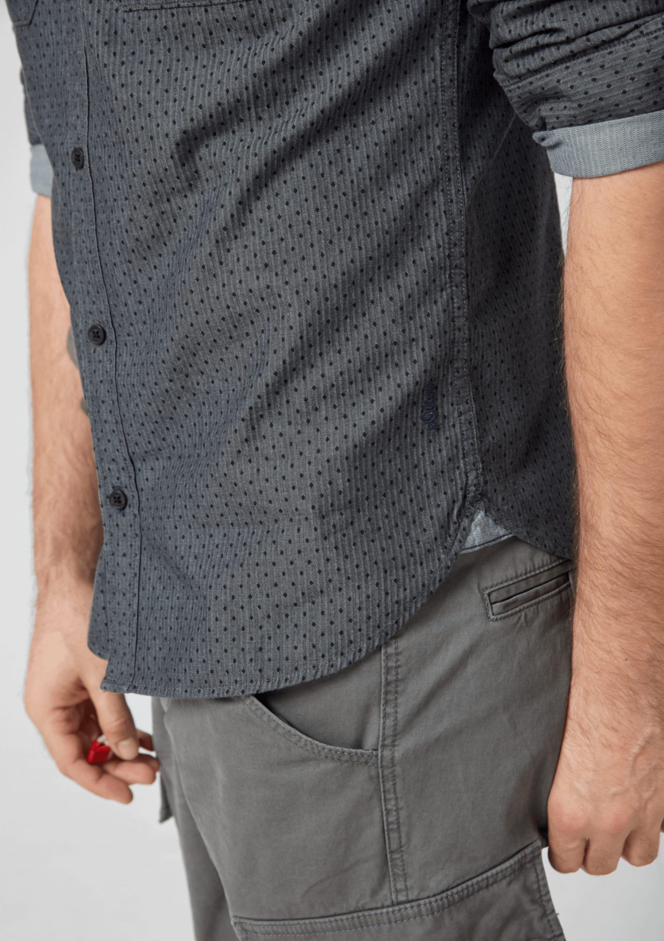 S Red DenimSchwarz Hemd Grey oliver In Label sCBrxtQdh
