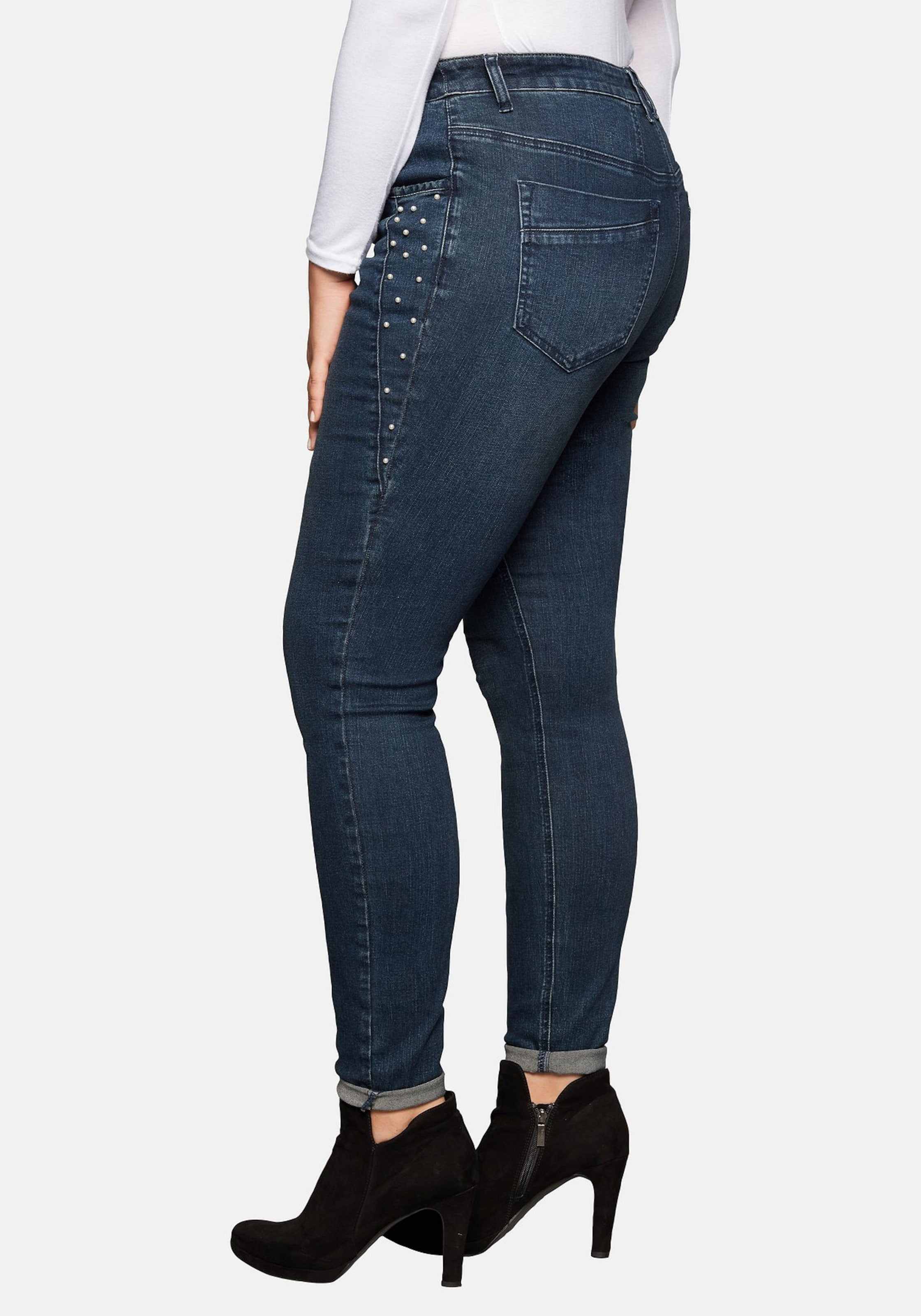 Jeans Denim In Sheego Jeans In Dunkelblau Sheego Denim EIWDHY29
