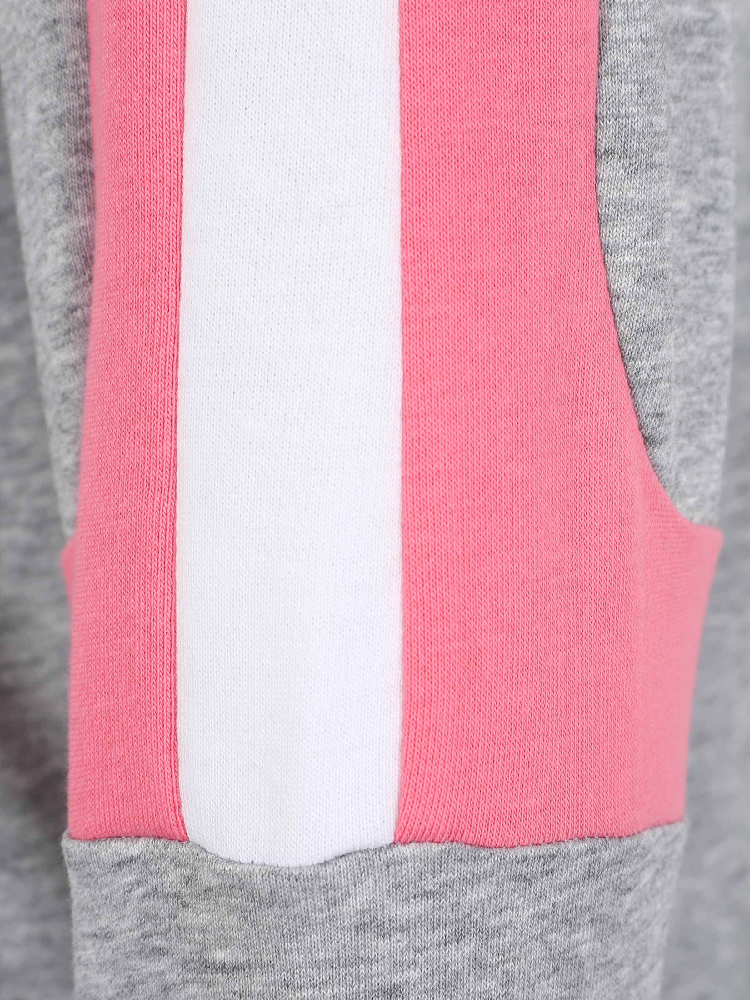GrisRose Classics En Urban Panel Sweat 'ladies Crewneck' Terry Blanc Curvy shirt 3qScR54AjL