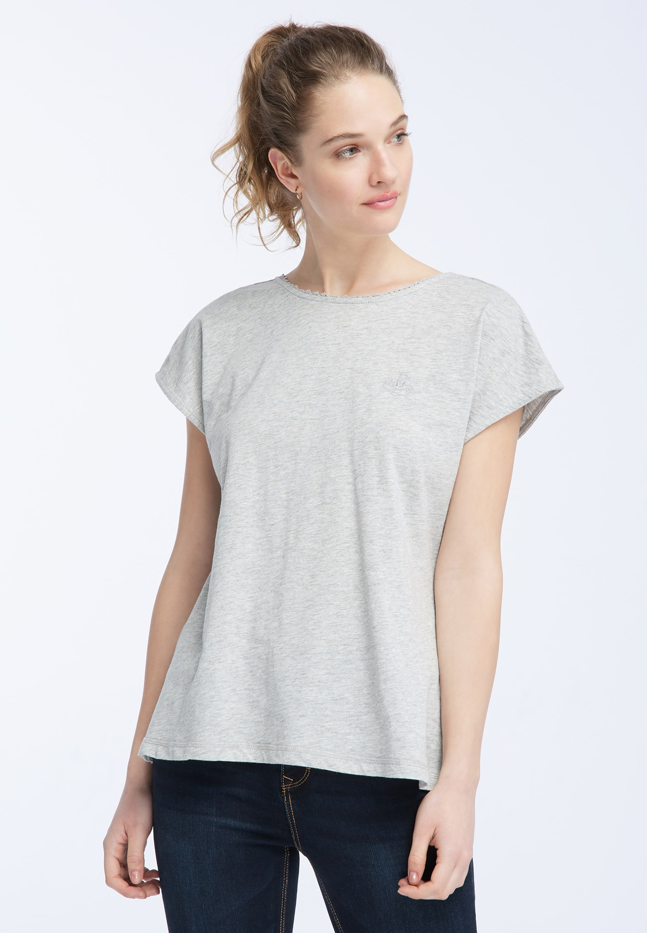 Chiné T shirt En Dreimaster Rose QrtCxsdBh