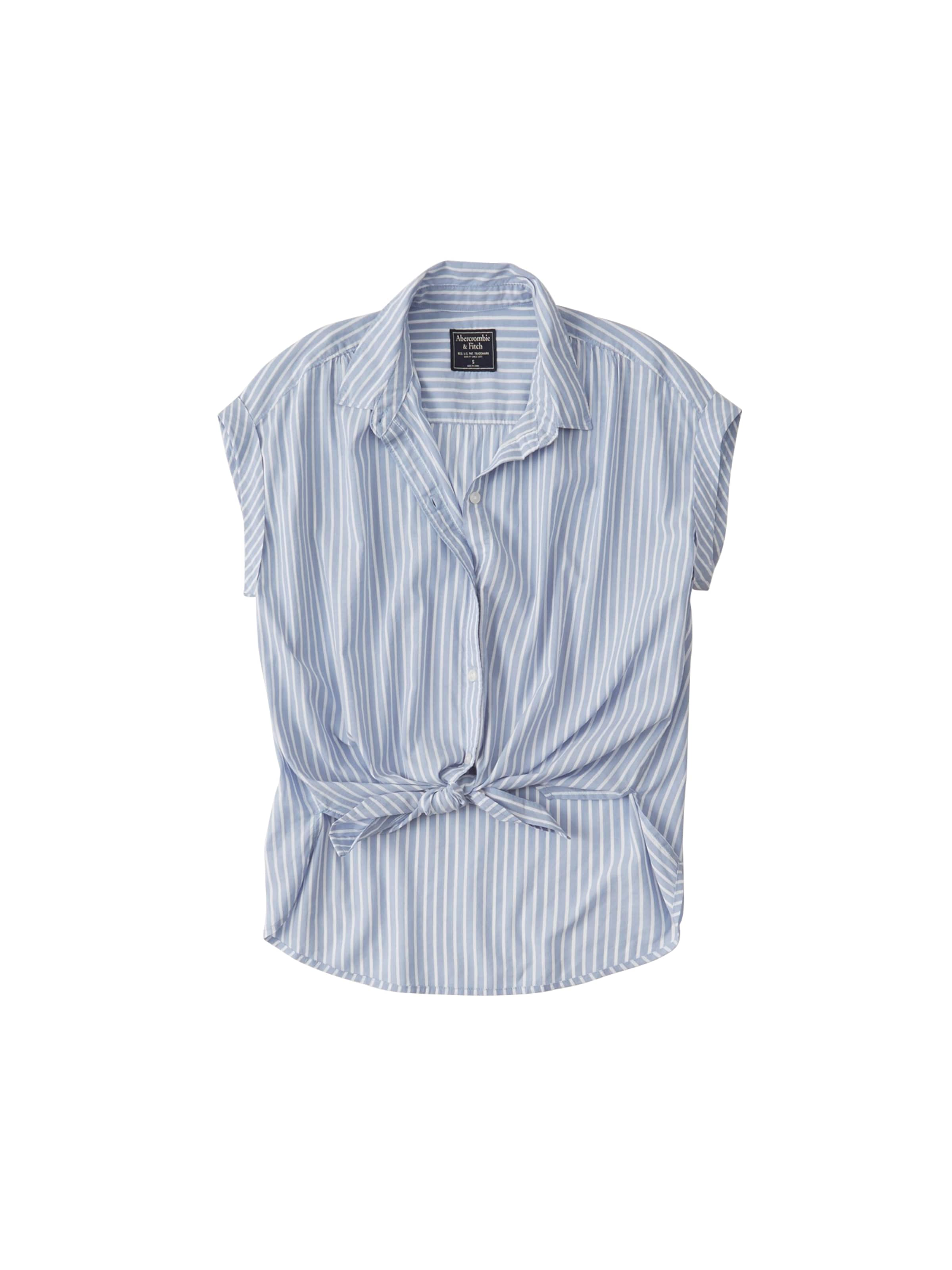 Fitch Abercrombieamp; Chemisier BleuBlanc Fitch Abercrombieamp; Chemisier BleuBlanc En En Fitch Abercrombieamp; e2bDWIEH9Y