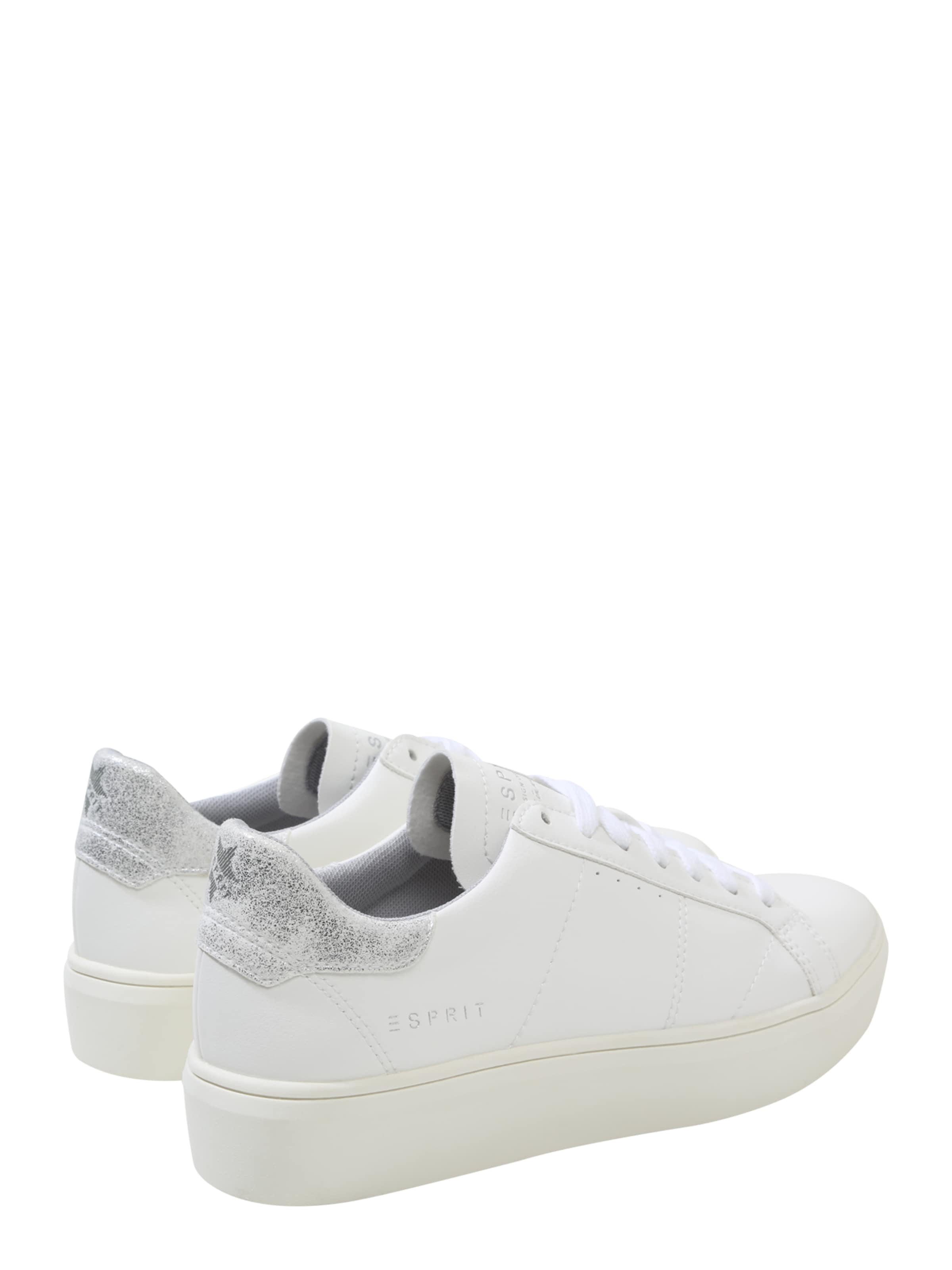 Lace 'elda Sneaker Up' Silber In Esprit l1cFTKJ