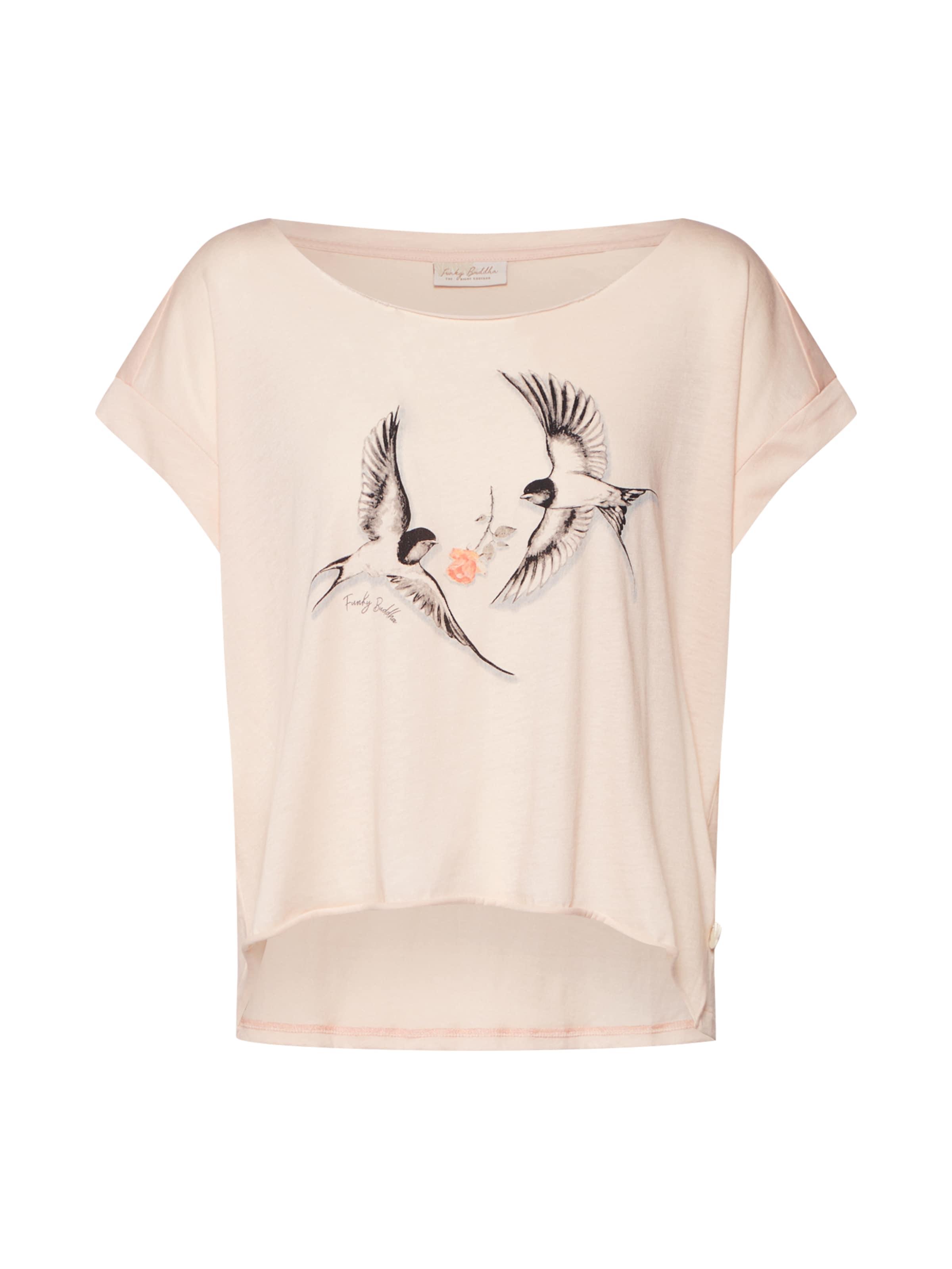shirt En Buddha Rose Funky T LR4j5A