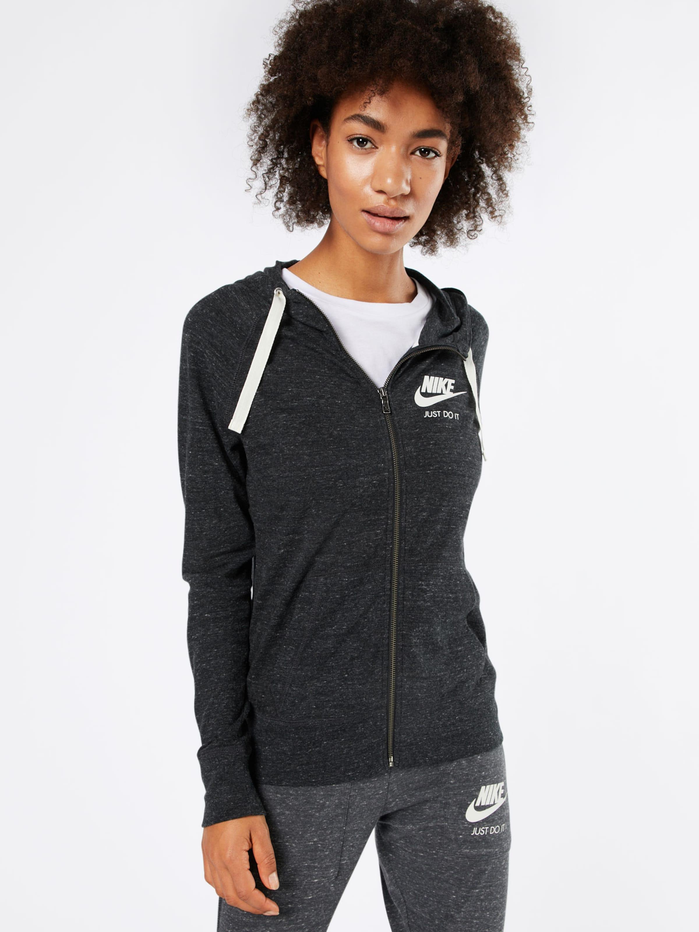 Sportswear Sweatjacke BasaltgrauOffwhite Nike Sportswear Nike In 0OXNPkw8n
