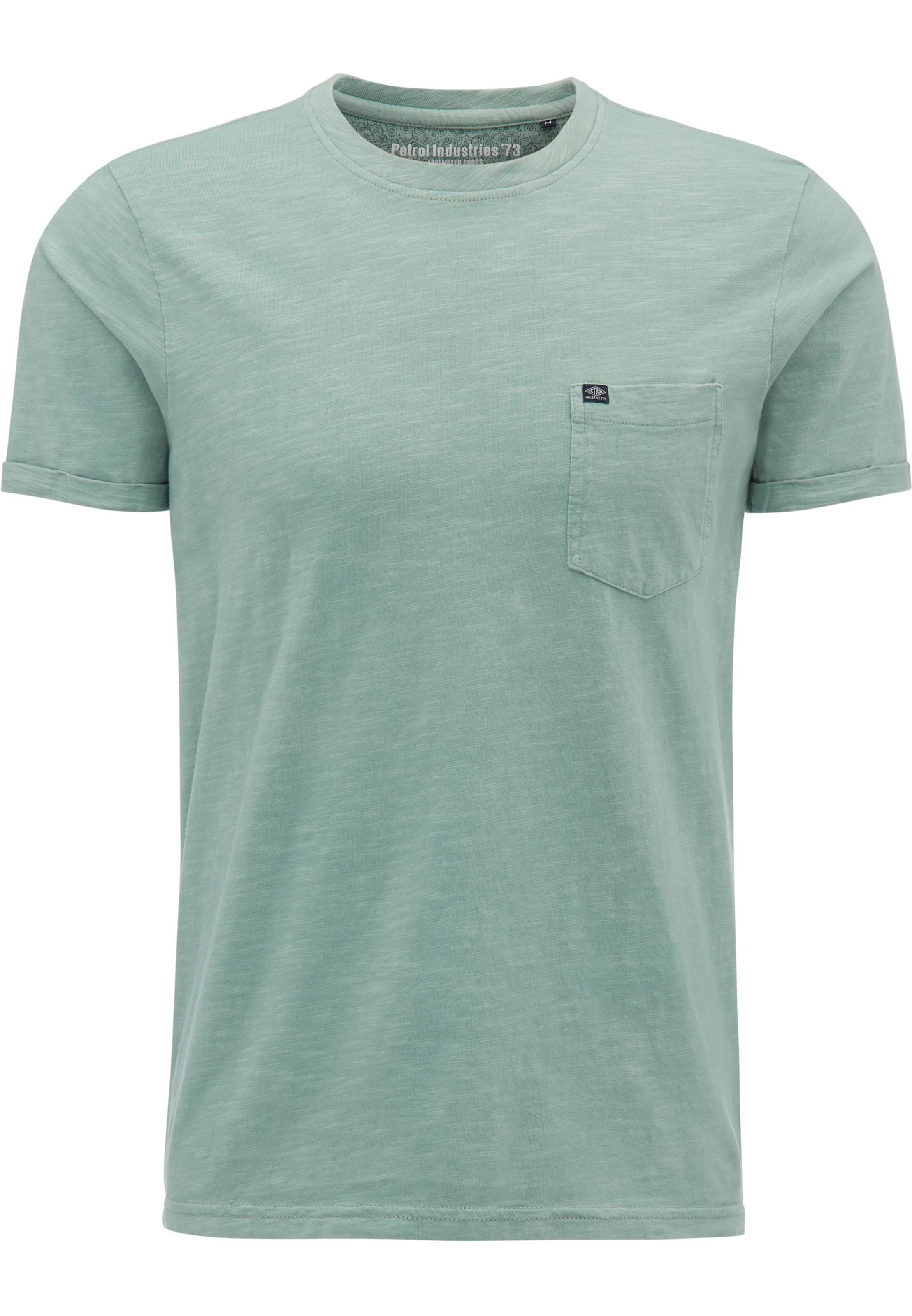 T Bleu Fumé En shirt Petrol Industries DHIE9YW2