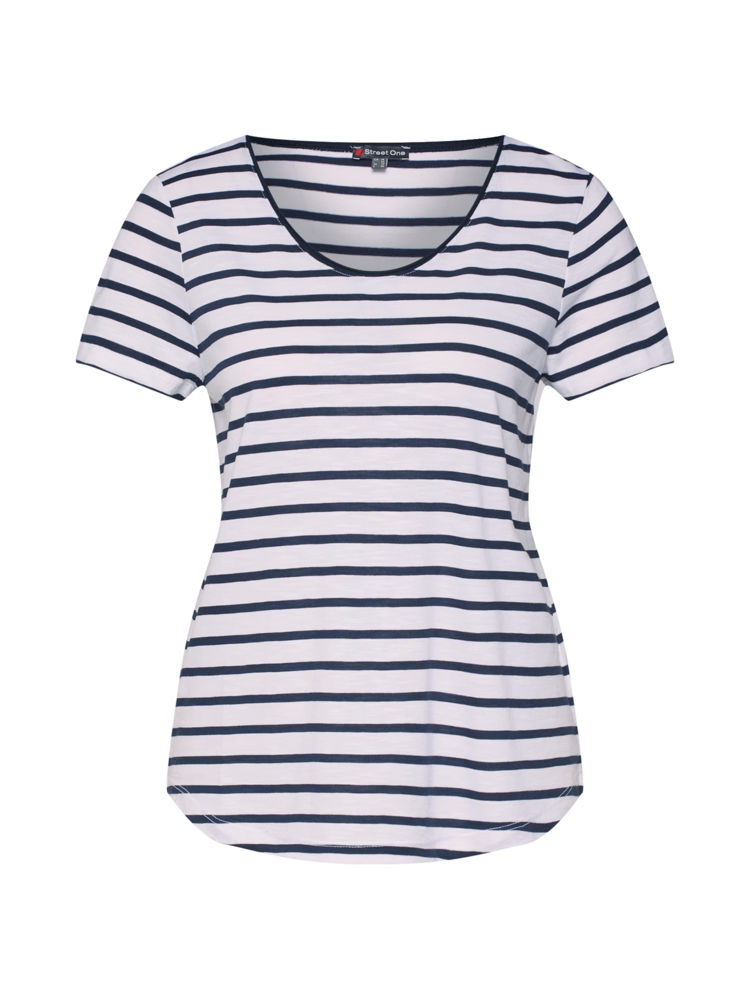 Qr One Bleu Street FoncéBlanc 'ltd shirt Gerda' En T R54qS3ALcj