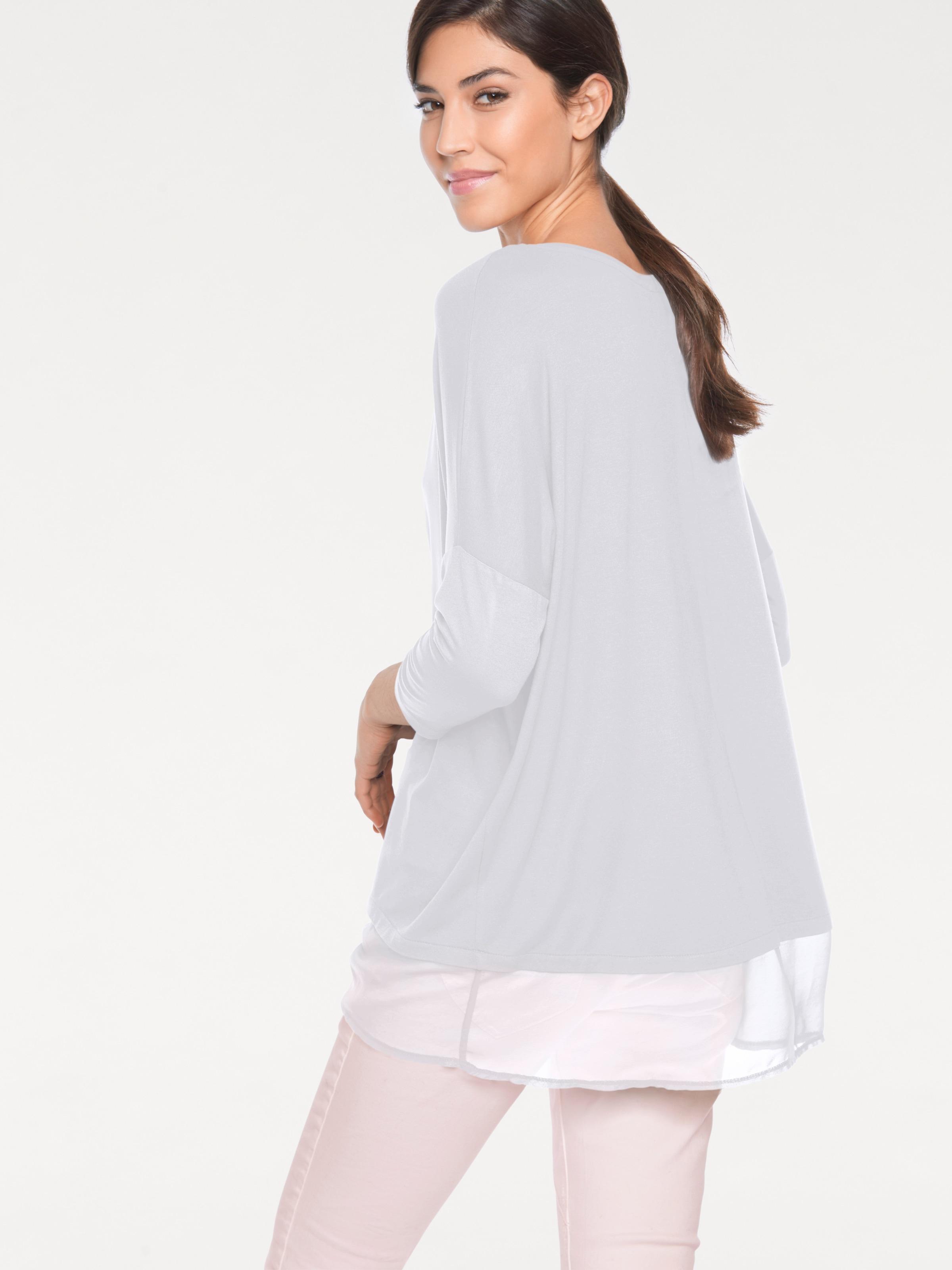 Blanc shirt shirt En En Heine Heine T Blanc T NwOmn0v8