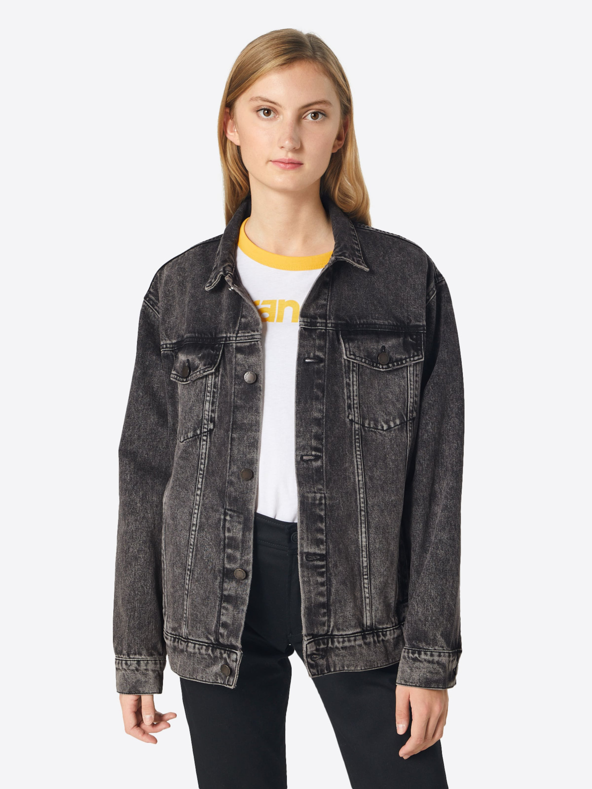 In Cheap Dunkelgrau Monday 'upsize Jeansjacke Jacket' Aj4RL5