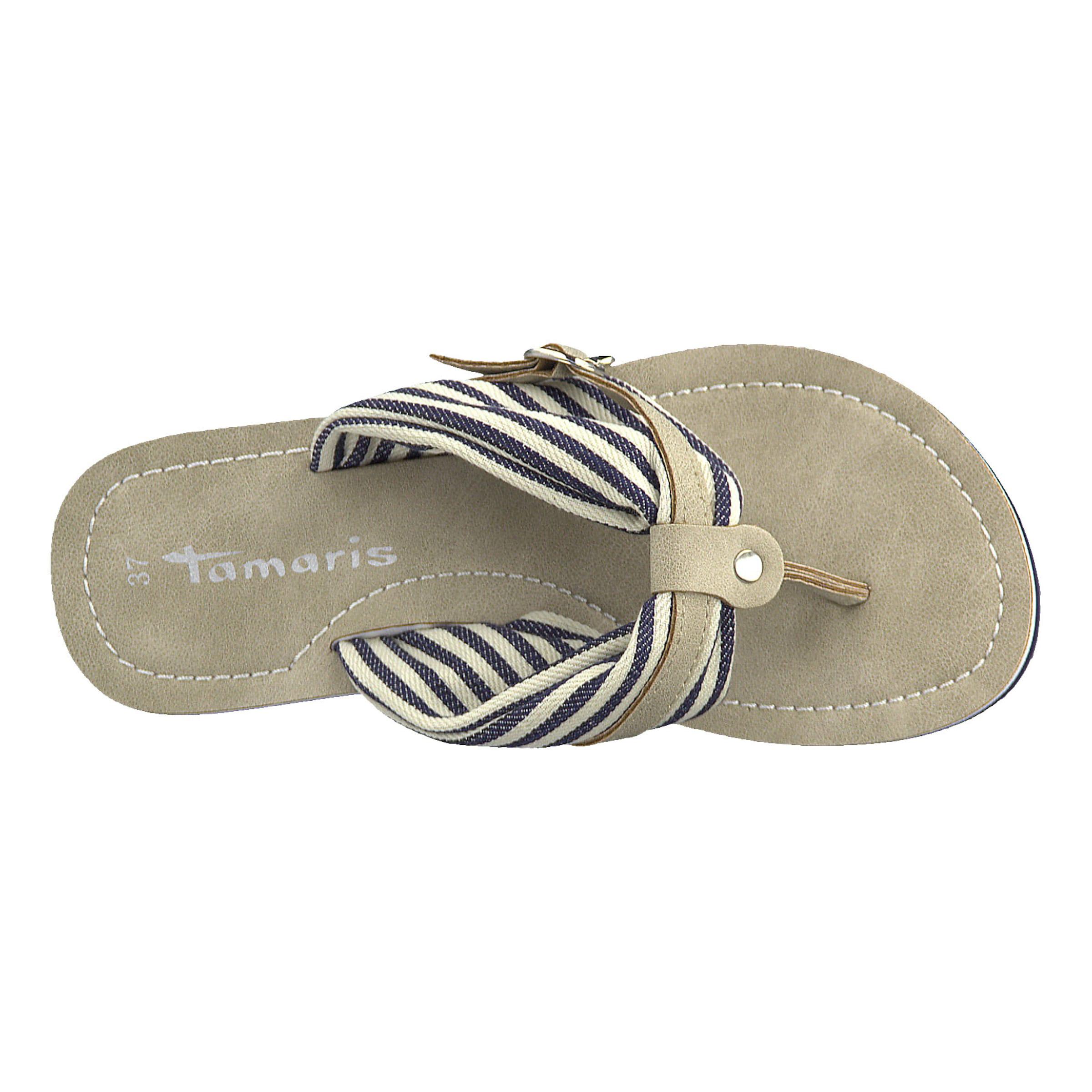Sandale HellbeigeMischfarben Tamaris 'anhänger' Sandale