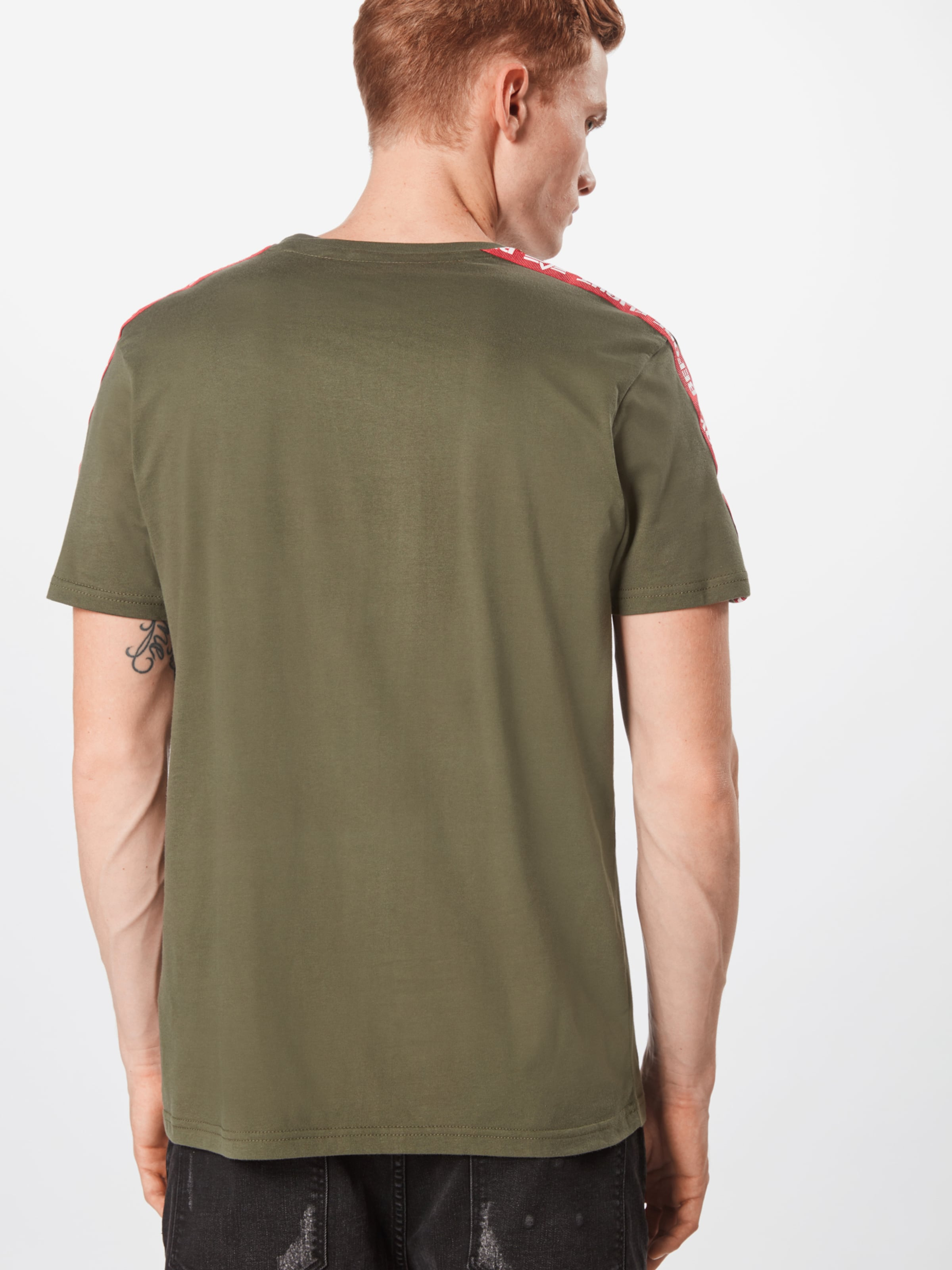 En Industries 'rbf shirt Tape T' Alpha Olive T xodWBeCr