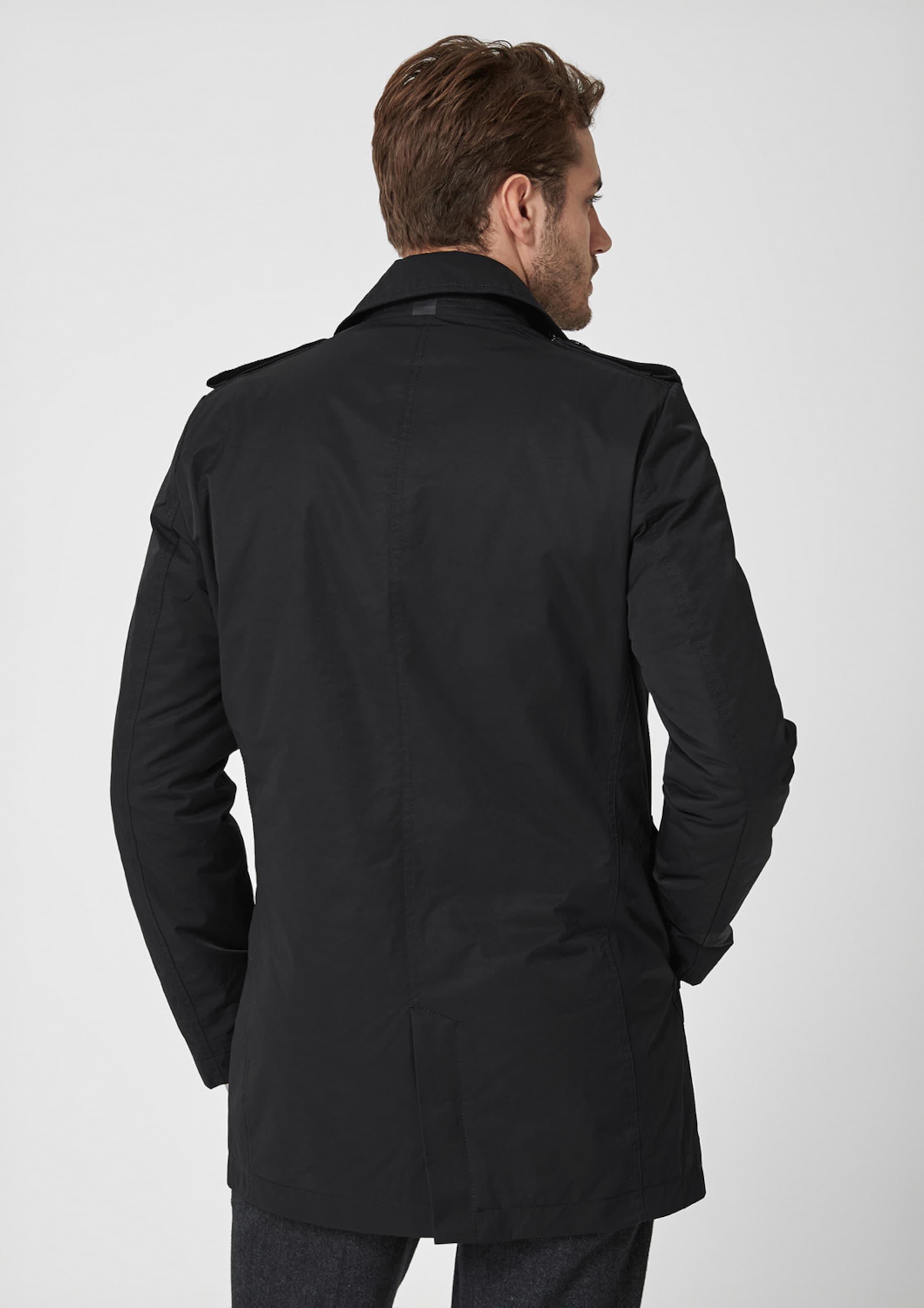 Schwarz S In oliver Black Trenchcoat Label f6gY7vybI