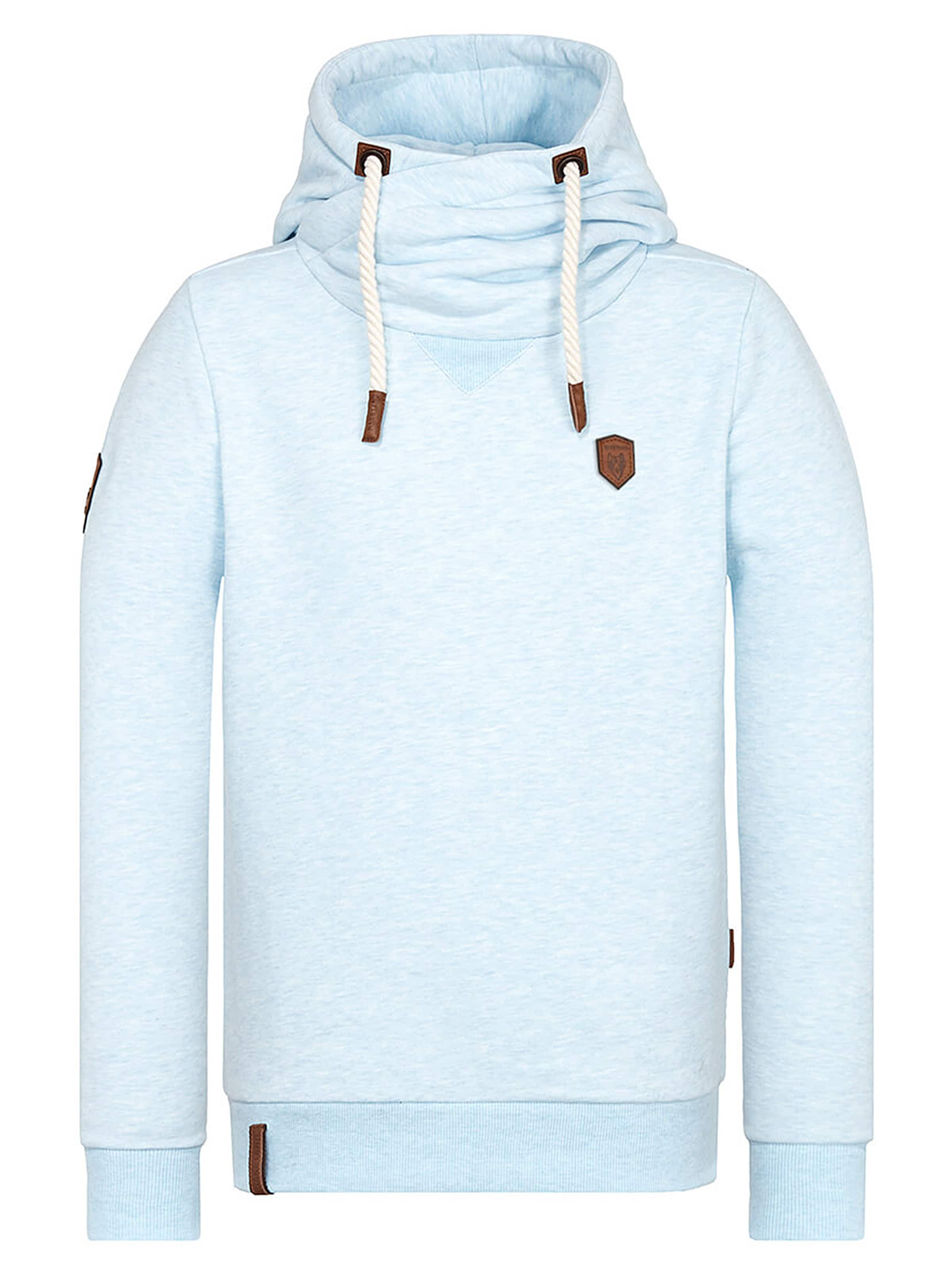 Naketano Amk' Sweat shirt 'küfürbaz Clair En Bleu YE9ebDH2WI