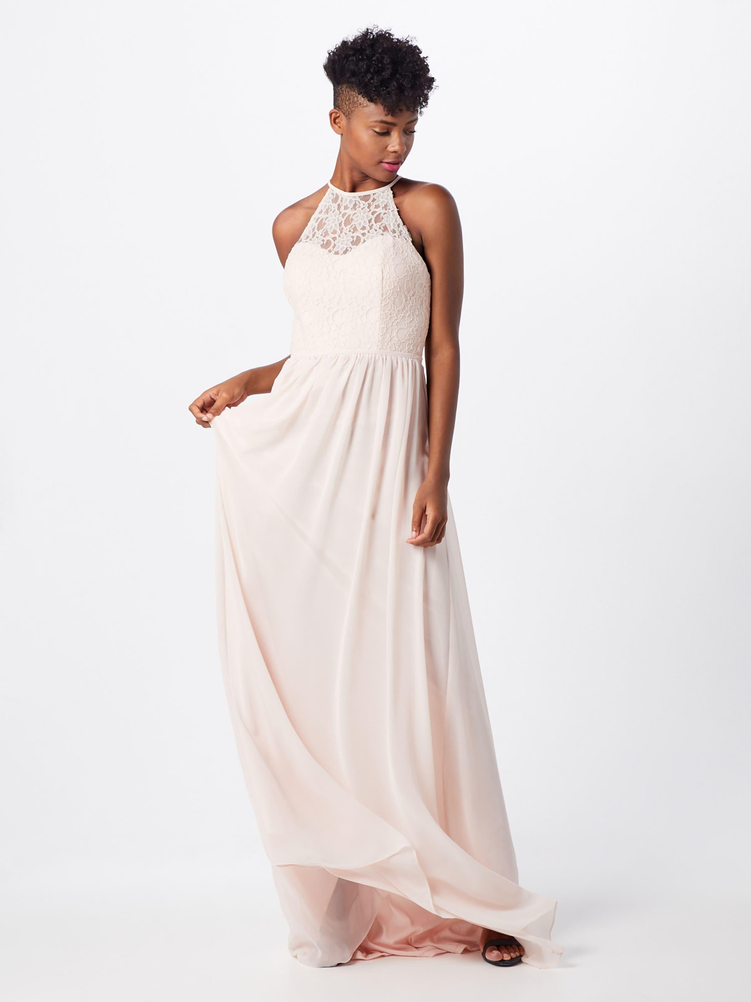 Robe Night De Laceamp; Soirée Corded Star Rose 'long Chiffon' En Dress l1uT3FJKc