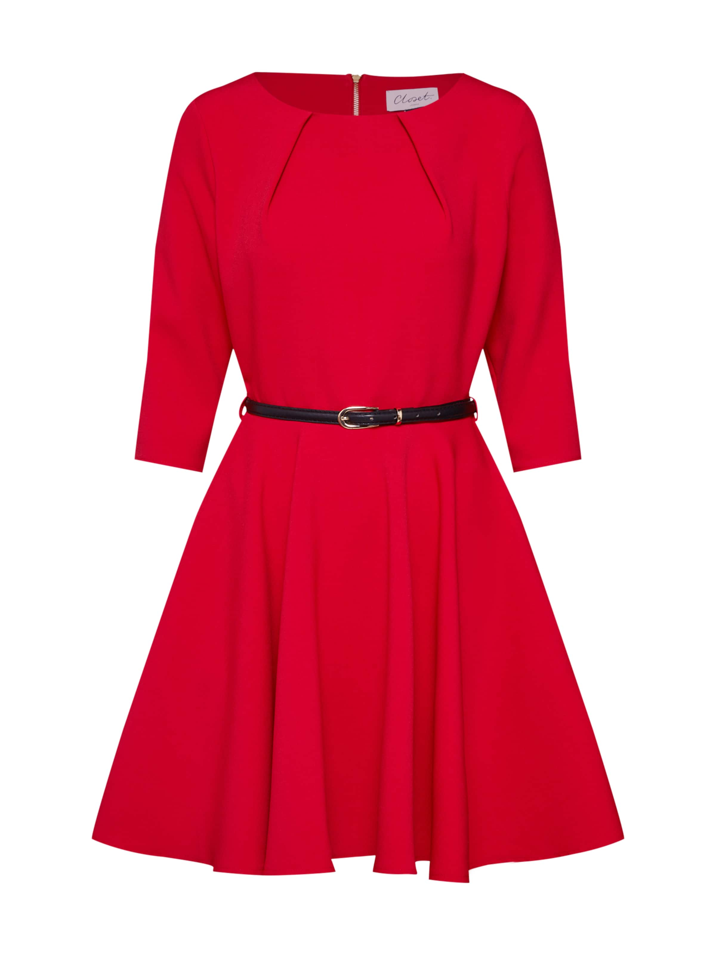 Closet Cocktail Robe En Rouge De London QroxdCeBEW