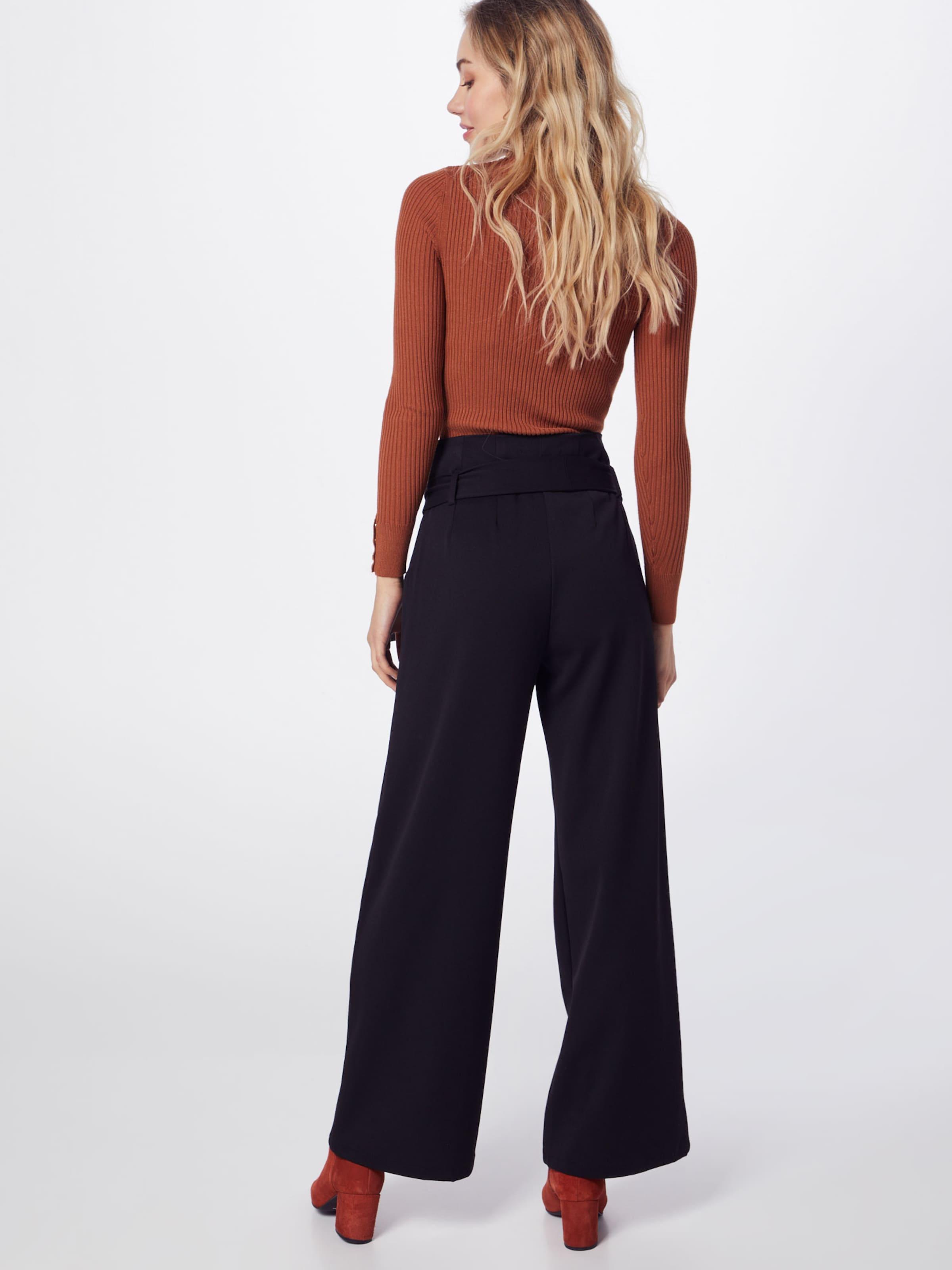 Pantalon En 'lisa' À Noir Object Pince J3K1TlcF