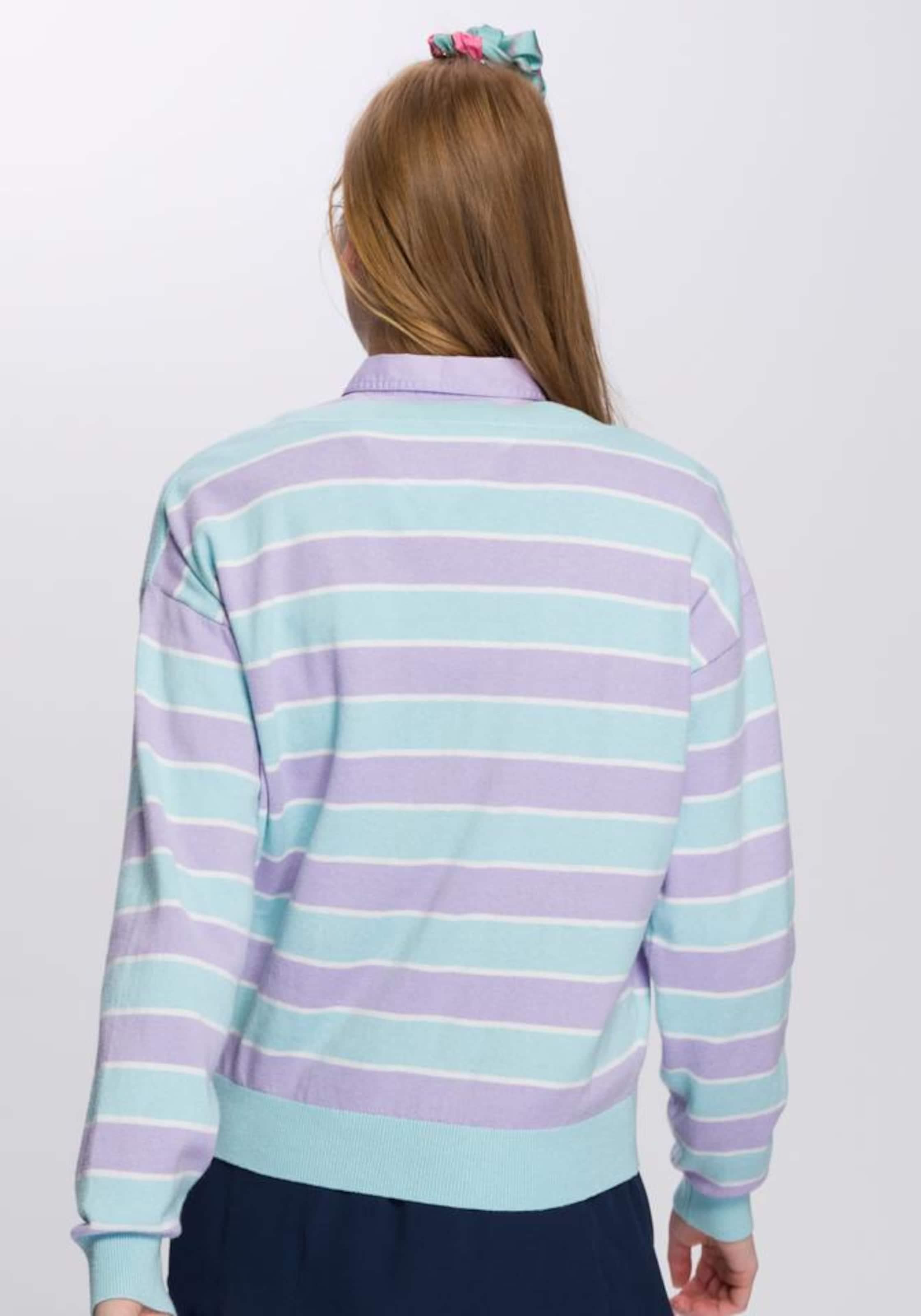 Rundhalspullover In Jeans In AquaHelllila Rundhalspullover Tommy AquaHelllila Tommy Tommy Jeans E2WDH9I