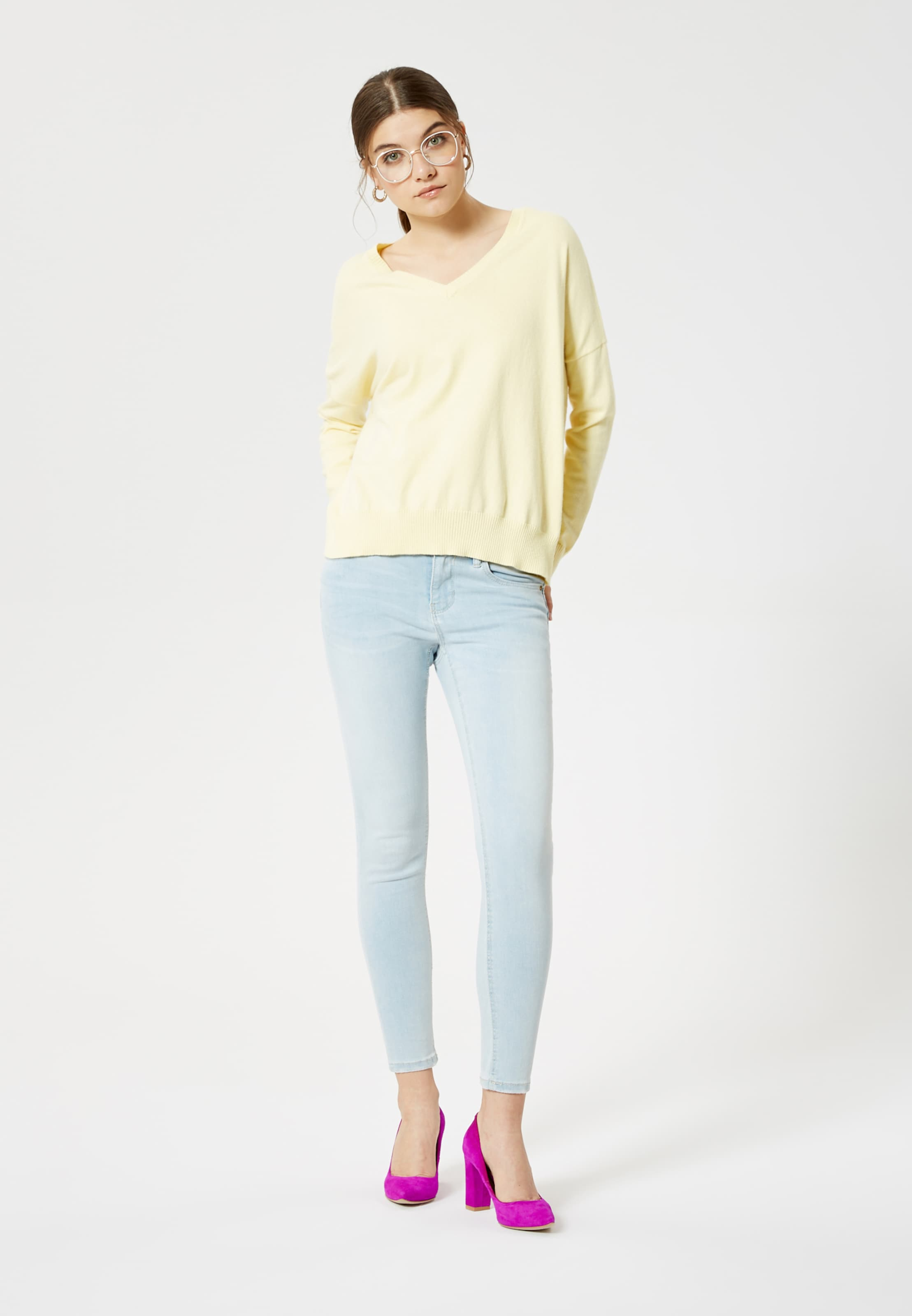 In Pastellgelb Pastellgelb Mymo Pullover Mymo In Pullover tCoQrBsxhd