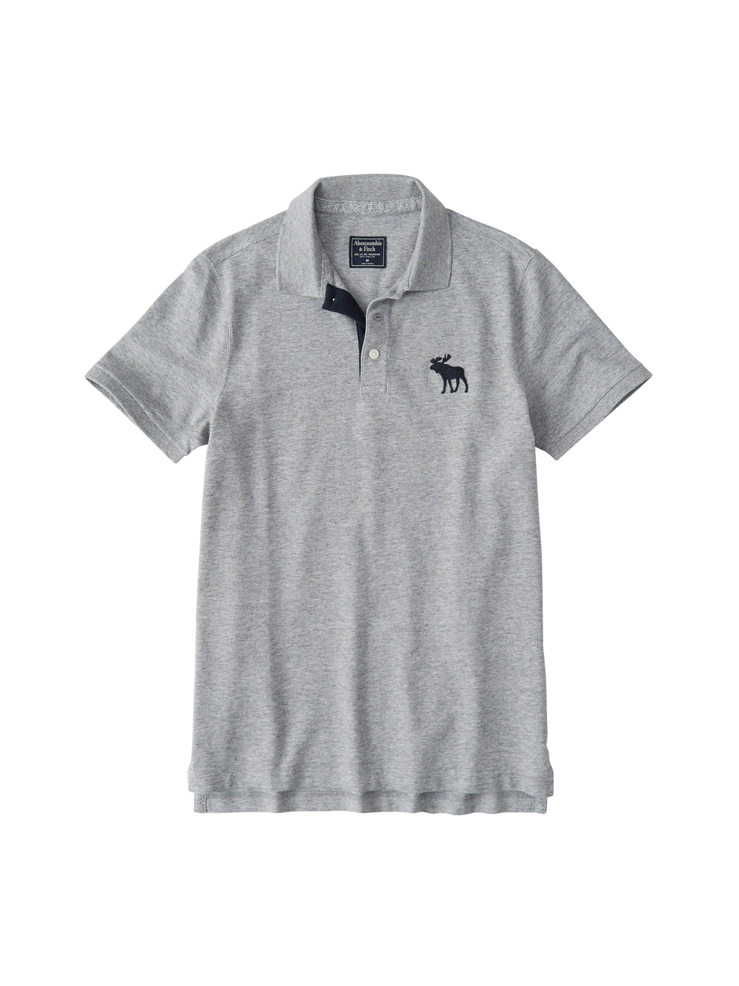 T 'exploded Gris En Abercrombieamp; shirt Polo 4cc' Fitch l3FT1JcK