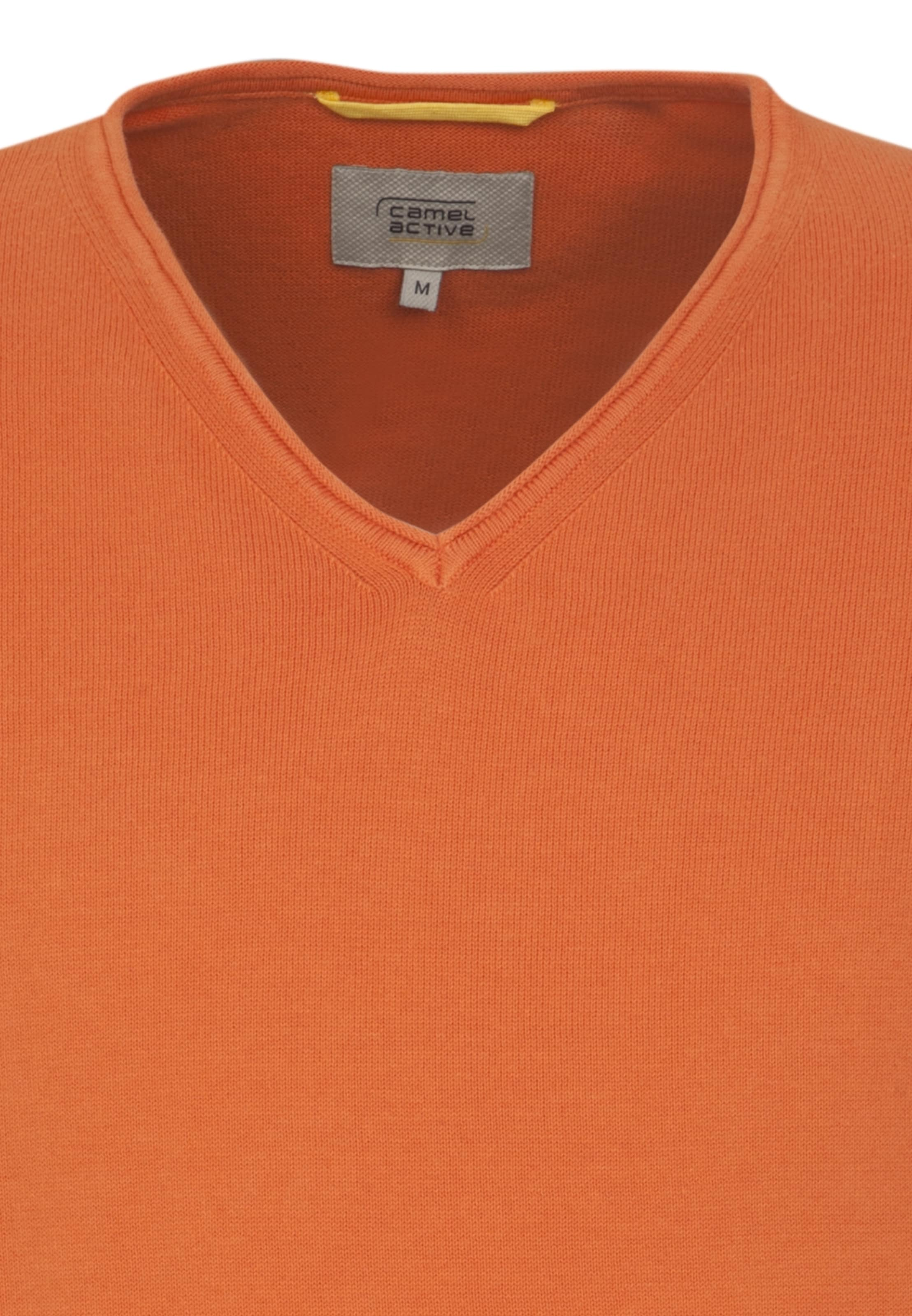 In Camel Pullover Active Dunkelorange In Camel Pullover Active E9IDWYH2