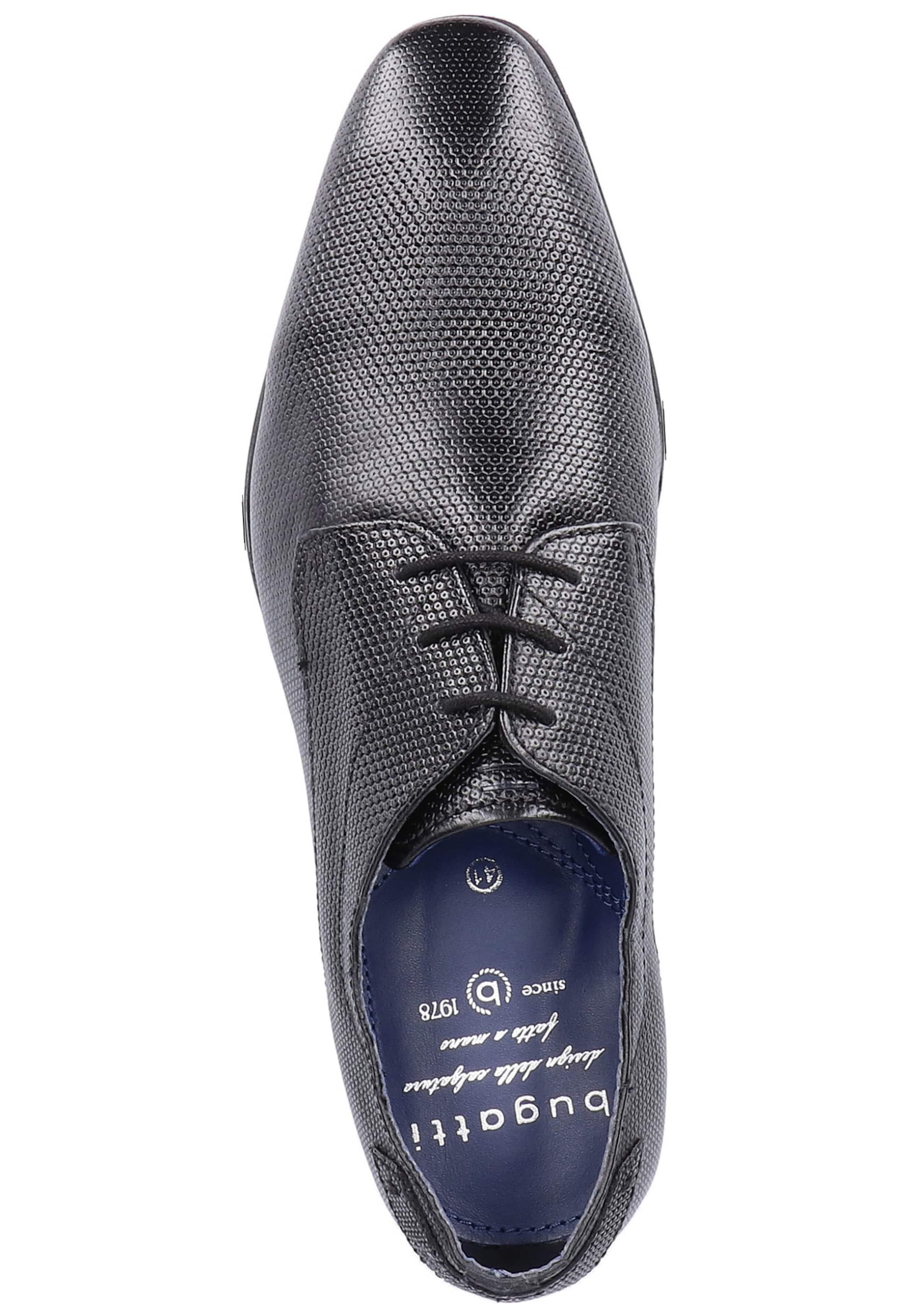 Bugatti Chaussure Lacets En Noir À E2HIWD9