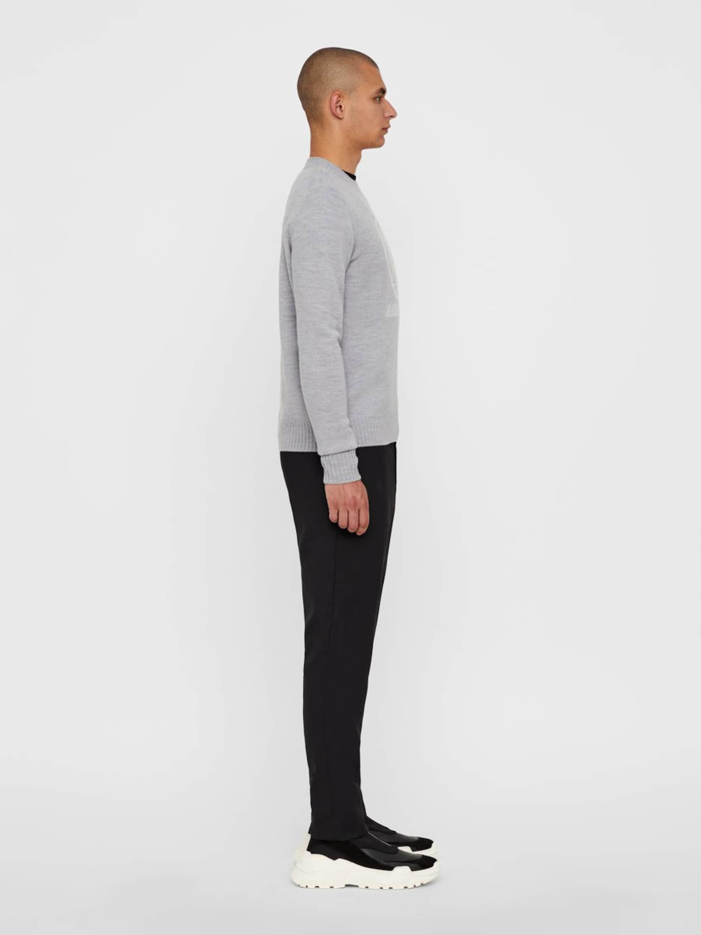 Wool' In Pullover J Grau lindeberg 'tristan dtCBQrhxs